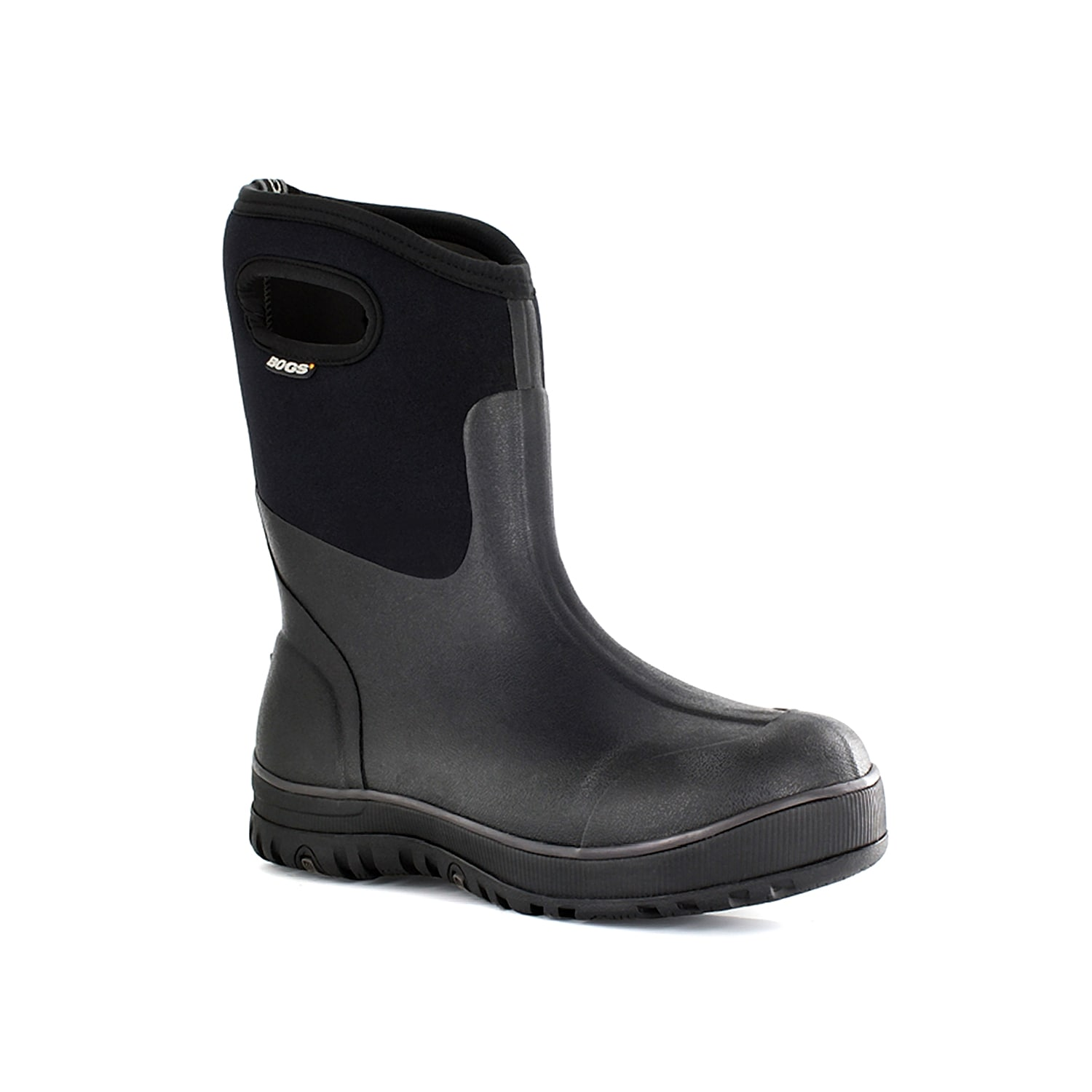 For a versatile boot that withstands shoveling snow, wading in water, or gardening, add the Mid Rubber boot from Bogs to your outdoor shoe collection.