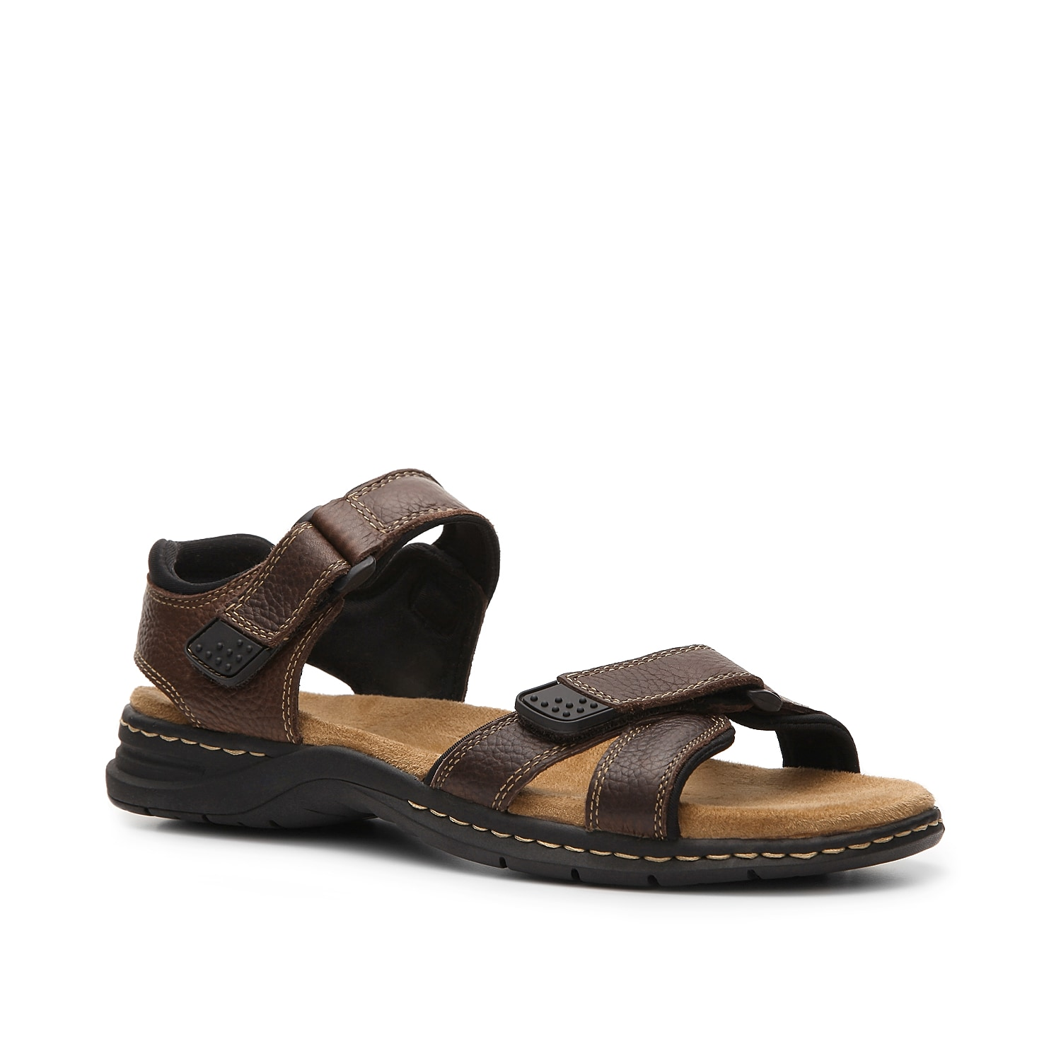 Whether on the trail or on vacation, the Gus sandal from Dr. Scholl\\\'s is a solid choice. Your feet will stay comfortable and cool.