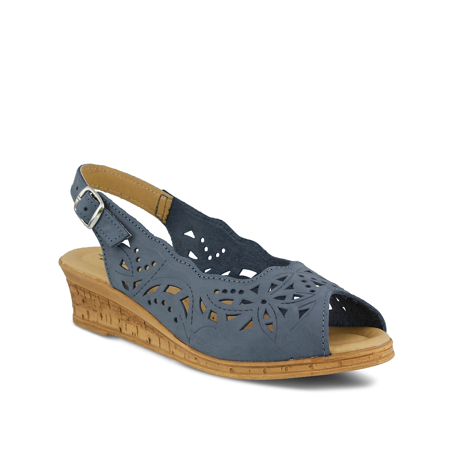Comfy and casual, the Spring Step Orella wedges are the perfect slingback sandals to pair with all of your warm weather looks. With chic cutouts and a cushioned footbed, these versatile leather sandals are a must-have!
