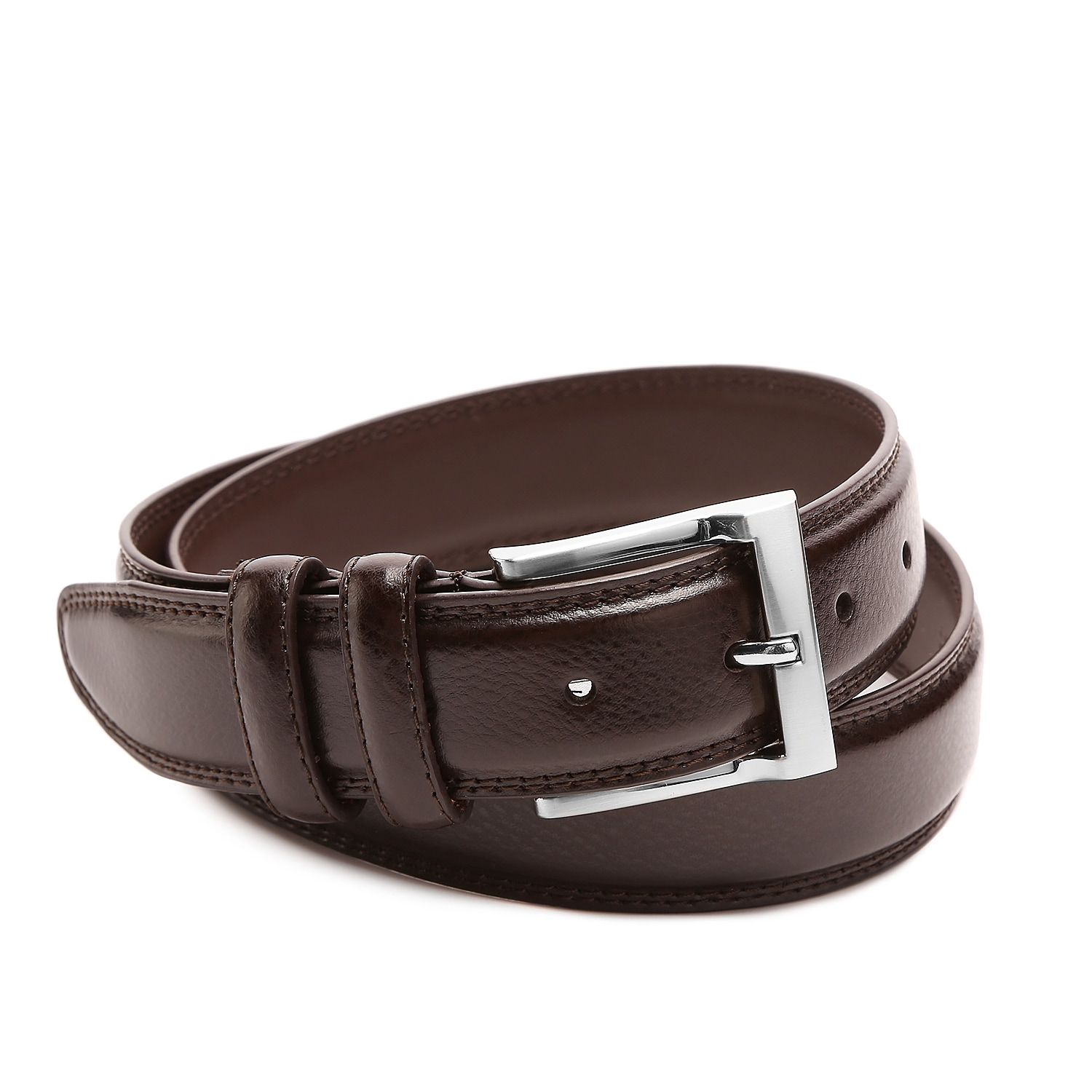 Every guy needs a simple leather belt, look no further than the Pebble belt from Florsheim! This classic look goes with pretty much everything and is designed for long-lasting wear.