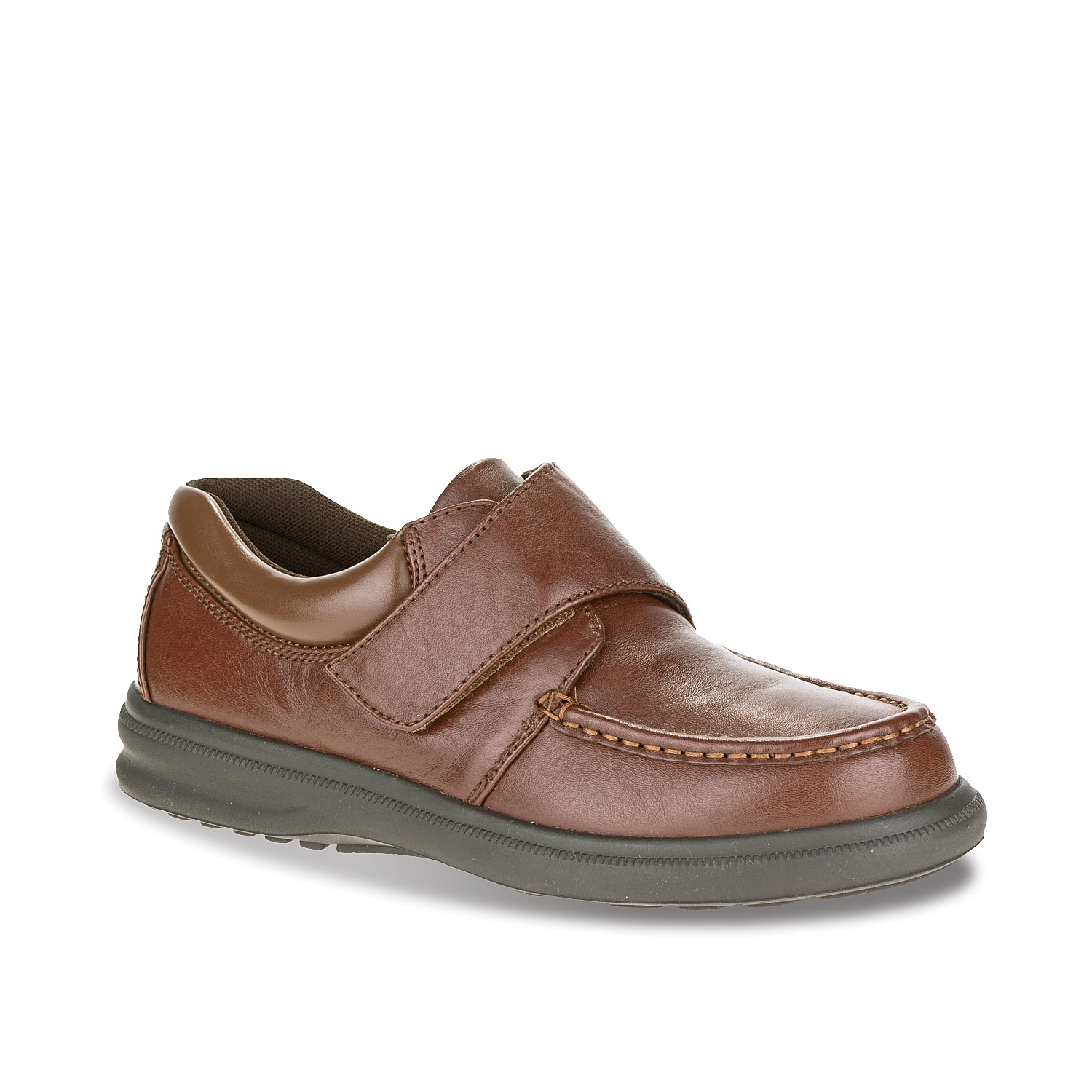 Enjoy the unmatched comfort of the Gil slip-on from Hush Puppies. A removable insole makes these sneakers easy to add your own orthotics for extra support.