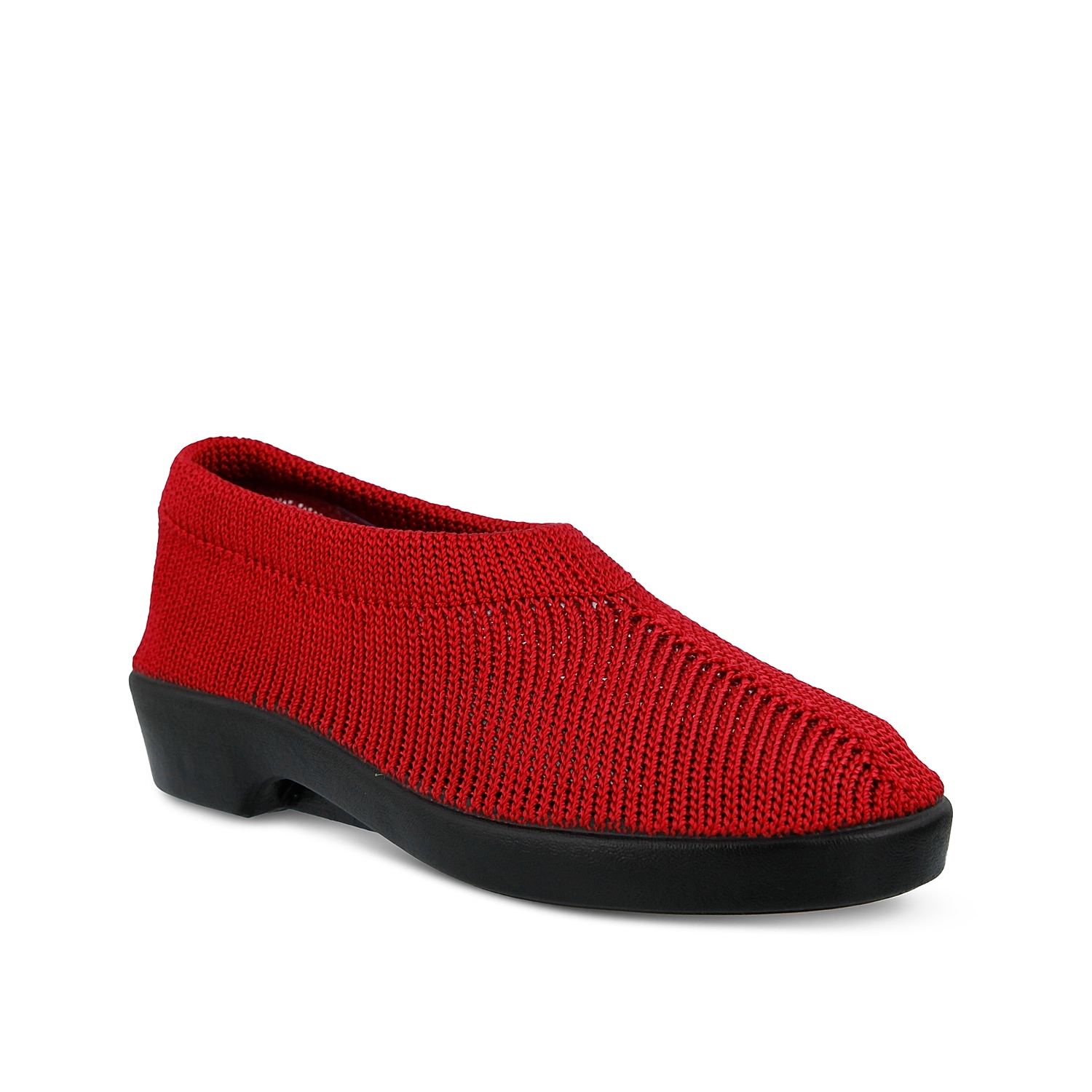 This naturally soft, light and breathable slip-on will be your best bet for casual footwear! The Spring Step Tender is a knit stretch wedge that you will choose again and again.