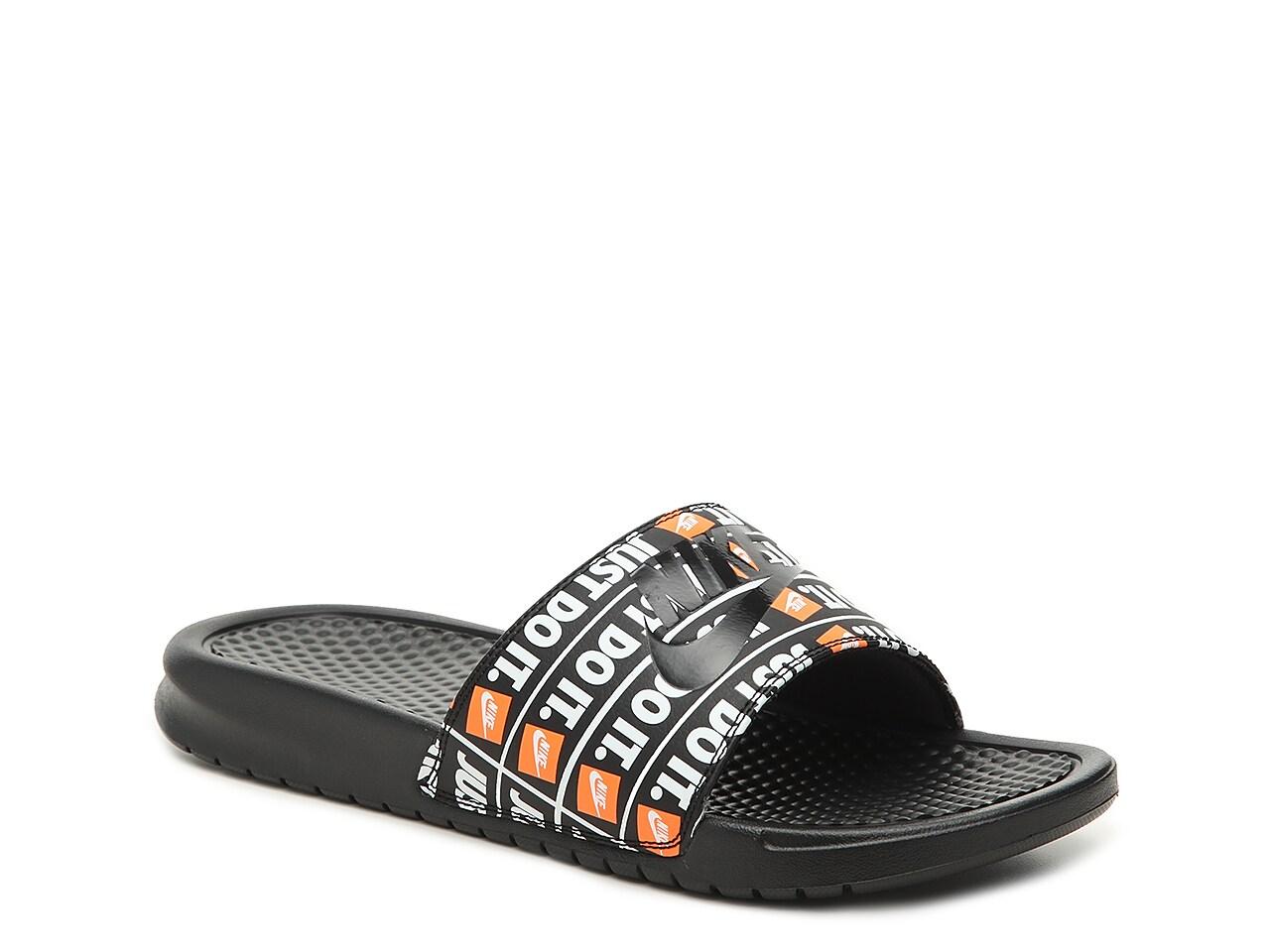 Nike Benassi Just Do It Slide Sandal - Men's