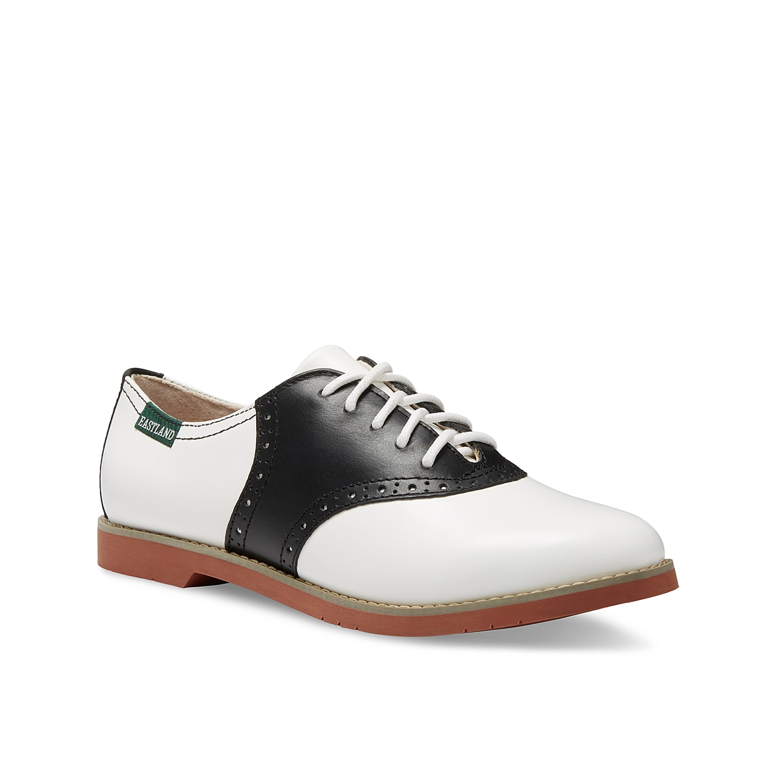 You can\\\'t go wrong with a classic! The Eastland Sadie oxford is a traditional saddle shoe that will put a vintage spin on any outfit.