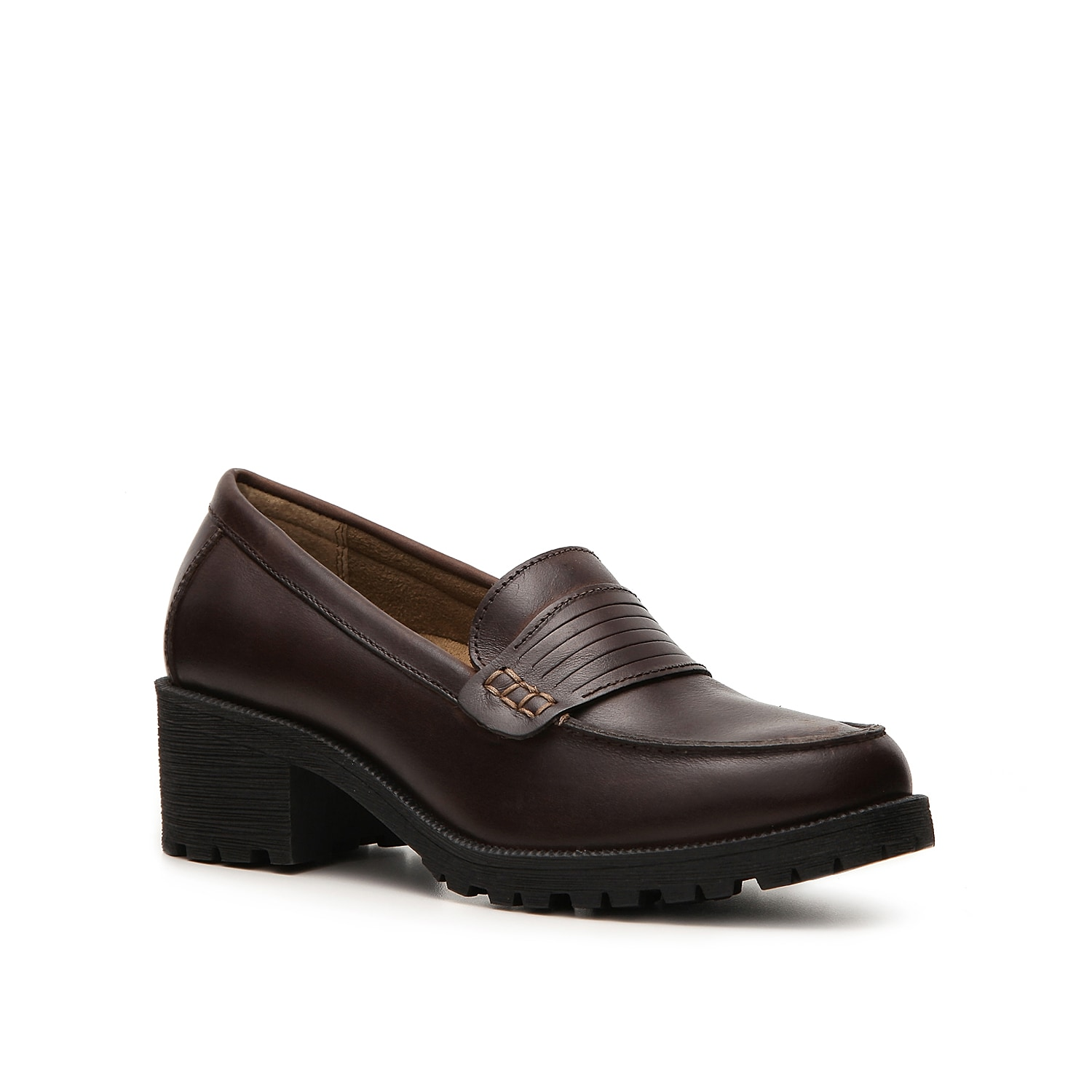 A casual shoe for a casual look! The Eastland Newbury loafer has classic styling and supportive construction for comfort and style.