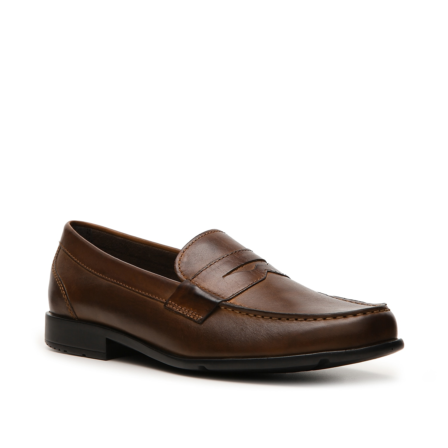 Comfort and style collide in this classic penny loafer from Rockport! Featuring sport technology for superior comfort and a stylish yet traditional design, this slip-on shoe will keep you looking and feeling good all day long.