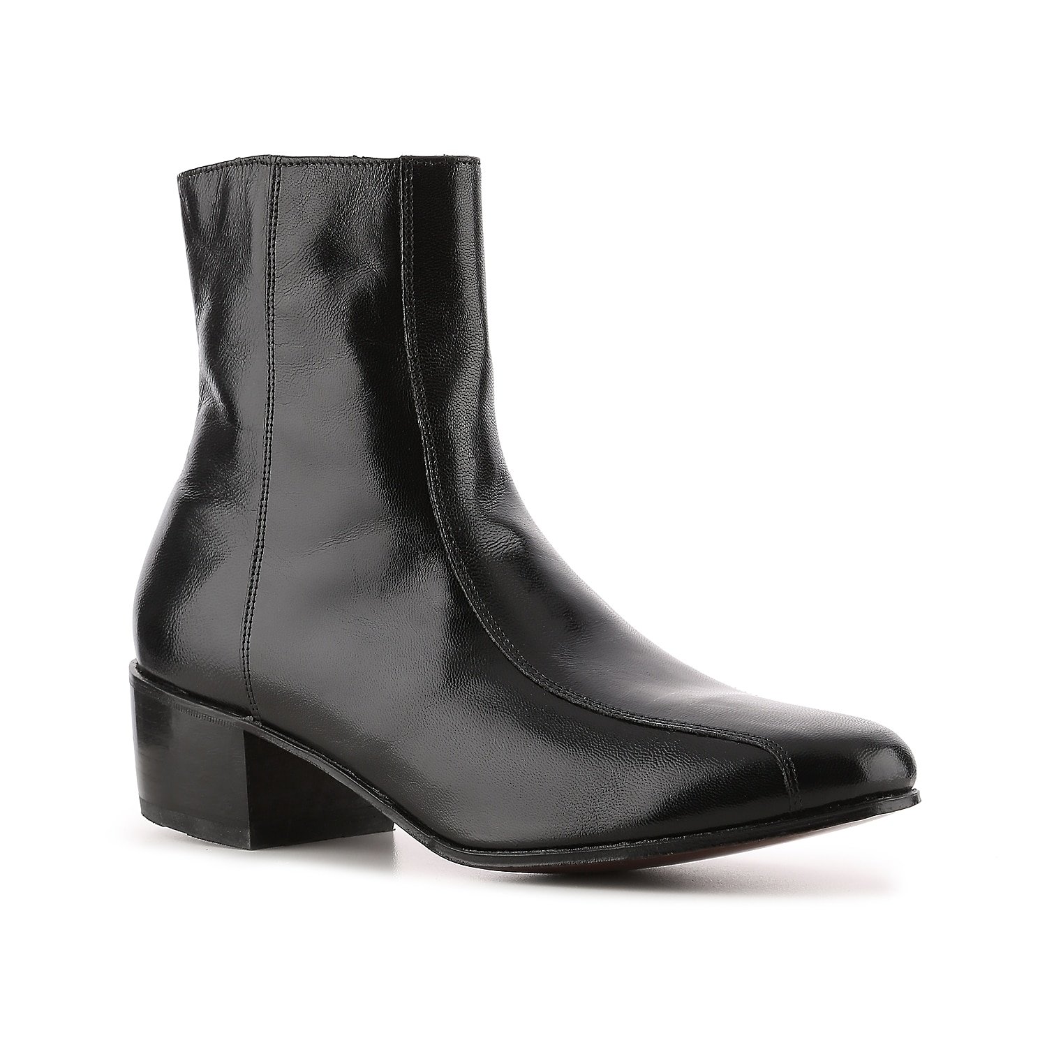 A dress boot that is perfect for just about any occasion, the Duke boot from Florsheim can take you places! This high quality leather side-zip boot provides a polished, sophisticated look.