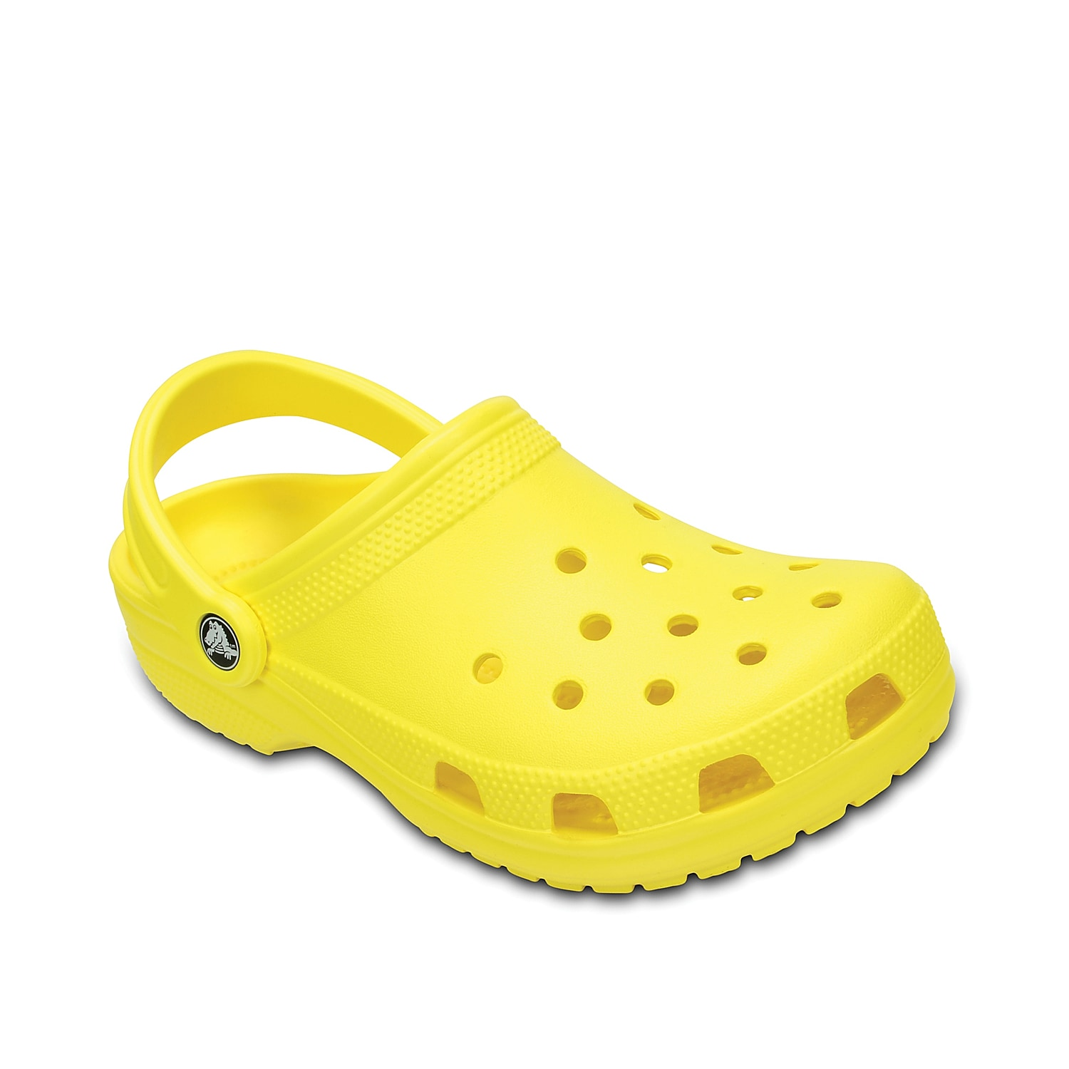 An iconic brand for active footwear, the Classic clog from Crocs is a comfortable slip-on. With a cushioned, molded Croslite™ upper and footbed these shoes are a great add to your casual wardrobe.