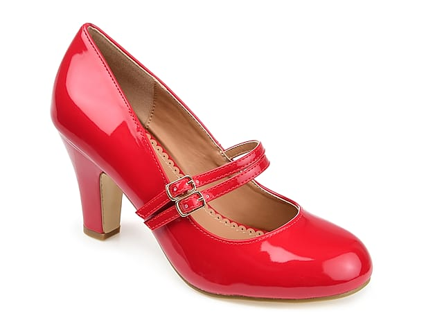 Mary Jane Red Heels