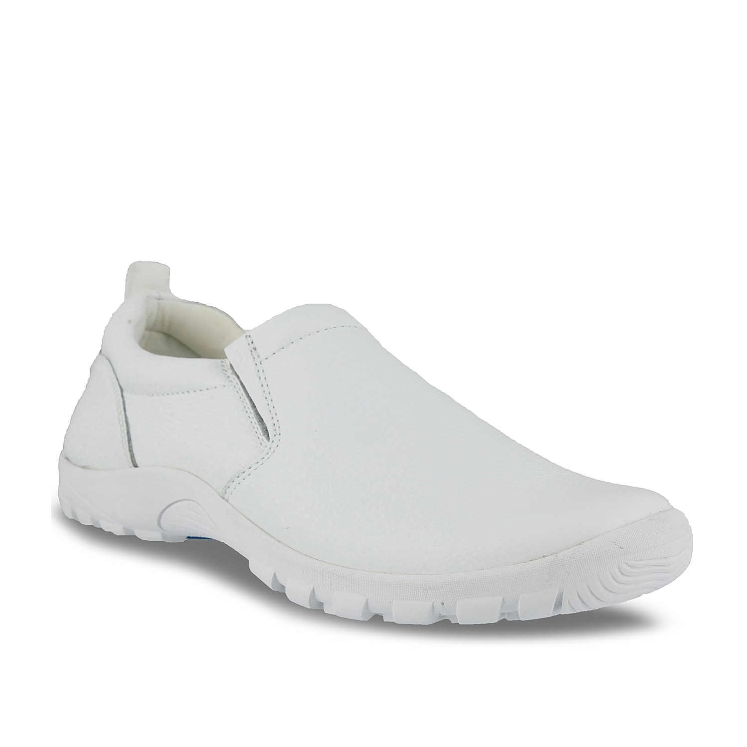 Step into easy casual style with the Beckham slip-on from Spring Step. This slip resistant leather shoe is perfect for work or everyday wear!