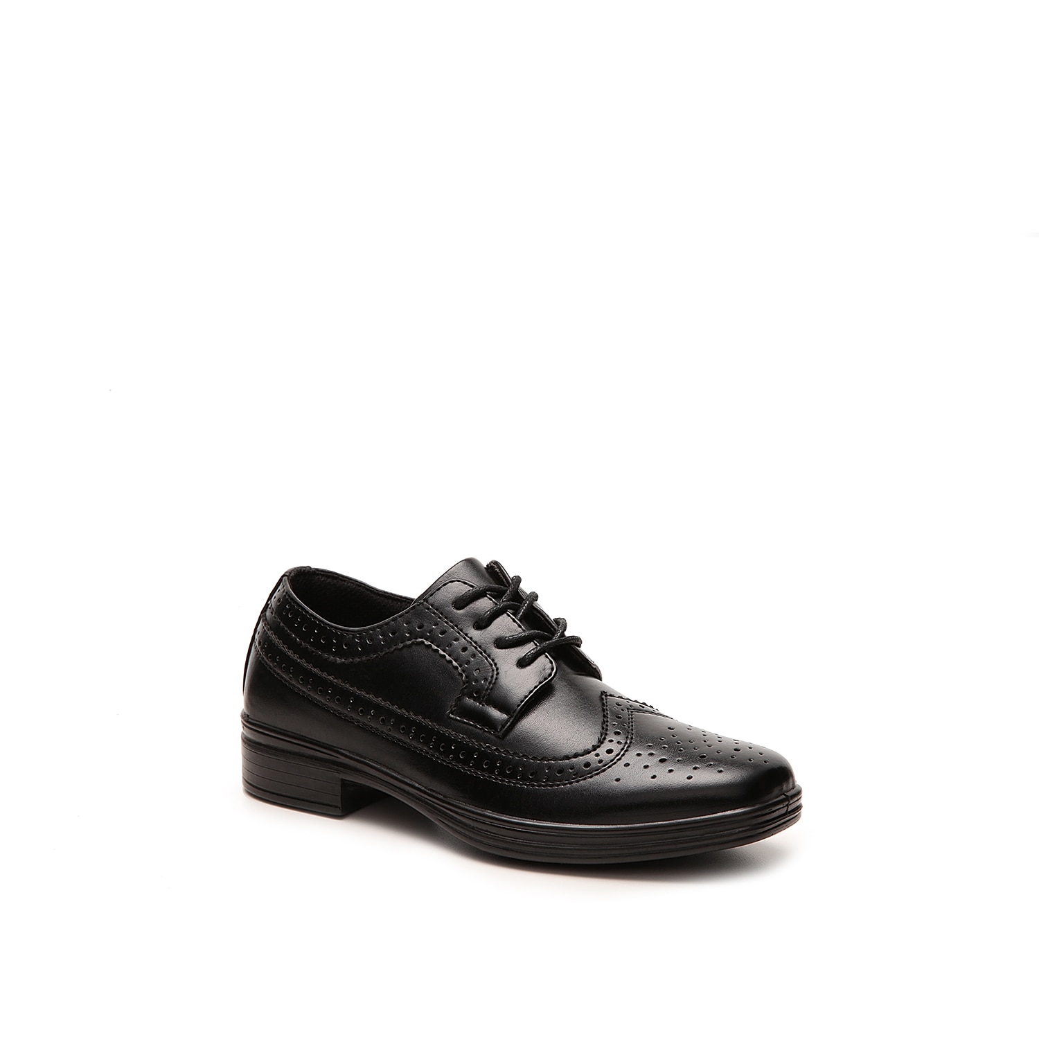 Bring out his dapper side with the Ace wingtip oxford. These kids dress shoes will surely add that old charm to his outfits!Not sure which size to order? Clickhereto check out our Kids' Measuring Guide! For more helpful tips and sizing FAQs, clickhere.