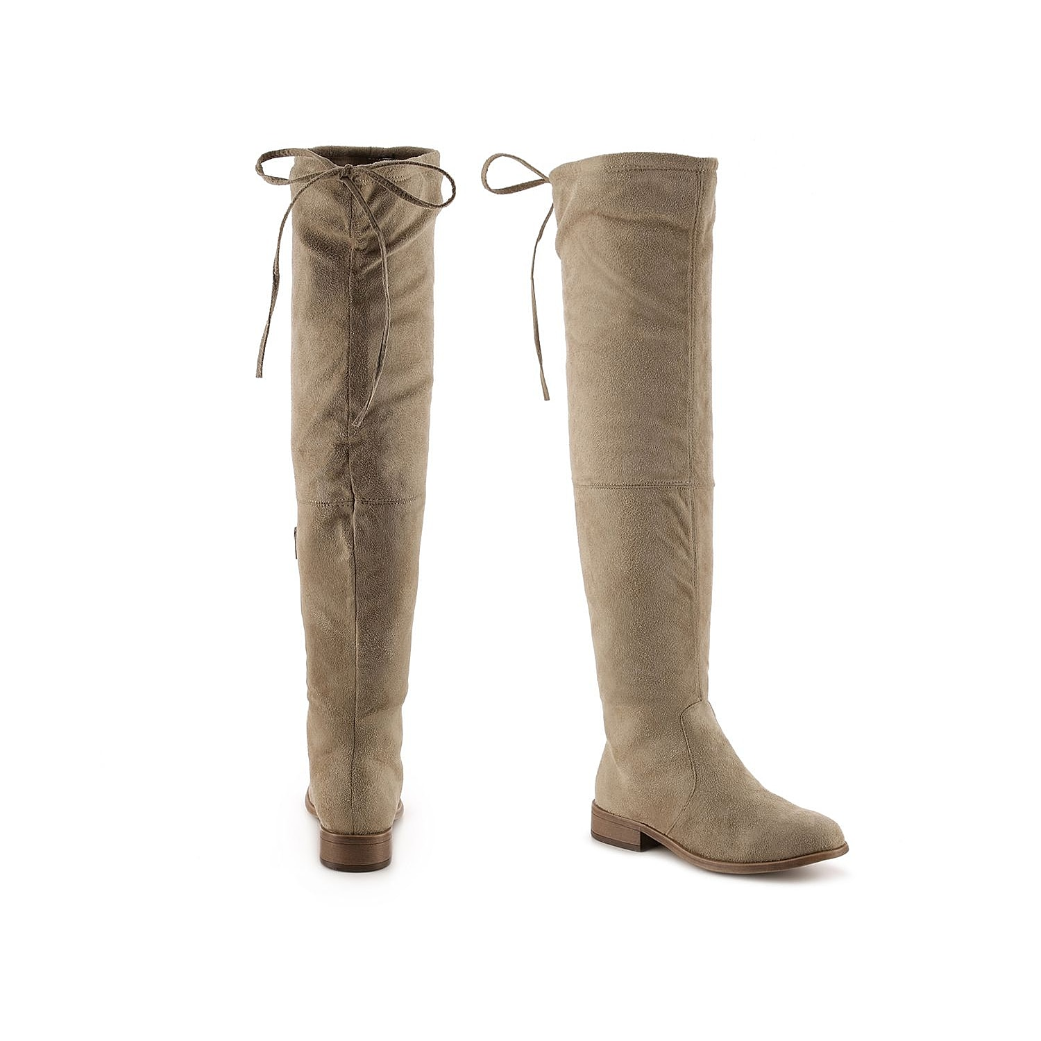 Add to your on-trend wardrobe with the Mount knee high boots from Journee Collection. Zip up in these versatile boots and pair with a mini skirt or skinny jeans. Click here for Boot Measuring Guide.