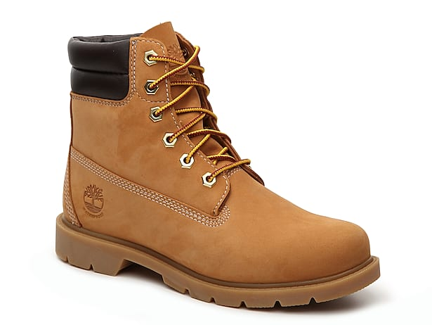 Light Brown Combat Boots For Girls