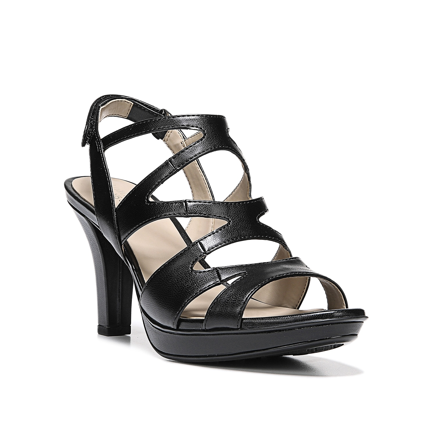 Mix things up with the Dianna sandal from Naturalizer. With strappy styling and a block heel, this platform sandal is sure to be a hit!