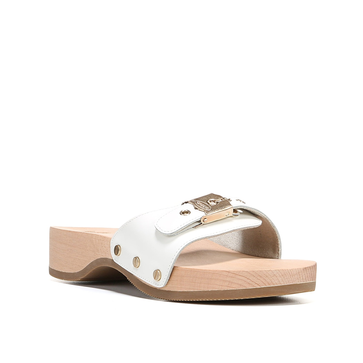 Stay classy in any outfit with the Original sandal from Dr. Scholl\\\'s. Stud accents and an authentic wood heel adds a touch of retro style.