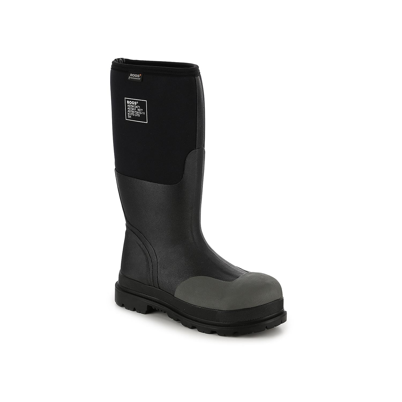 Bogs Rancher Forge Steel Toe Work Boot - Men\\\'s - Black - Rain