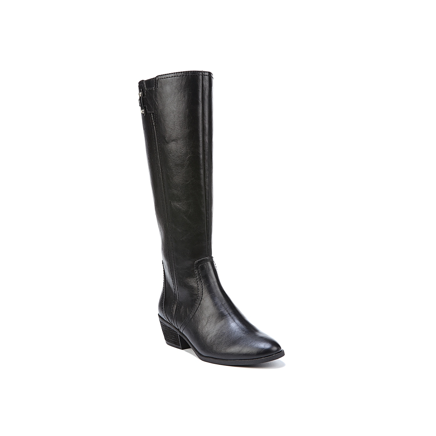 Classic and sophisticated, these comfortable leather boots from Dr. Scholl\\\'s will become a fast favorite in your fall wardrobe. The Brilliance knee high boot is a casual tall boot with minimal details for maximum style and versatility!Click here for Boot Measuring Guide.