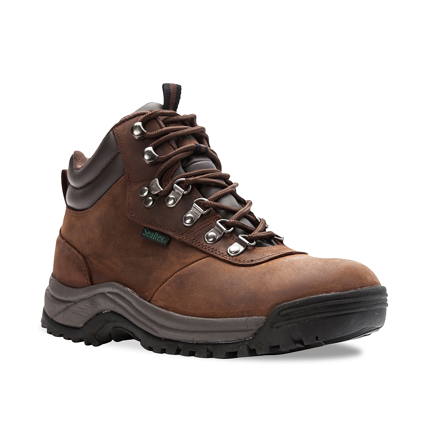The Propet Cliff Walker boot is a versatile boot can go from work, to trail to casual weekend adventure. The speed lacing closure is designed to make for easy on and off, while the Sealtex® waterproof bootie construction means your feet will stay warm and dry.