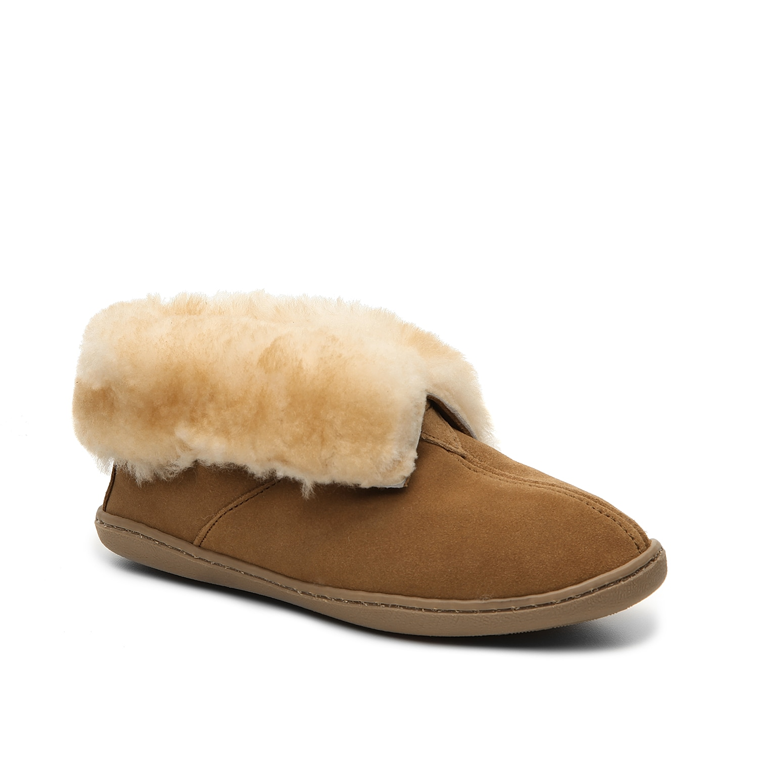 A soft fur lined ankle boot from Minnetonka is going to be your new best friend during these colder months ahead. Slip on these bootie slippers and cozy up with friends!