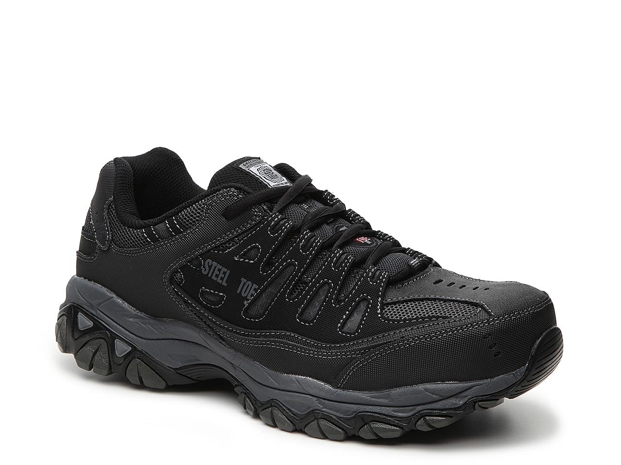 Skechers Relaxed Fit Cankton Steel Toe Sneaker