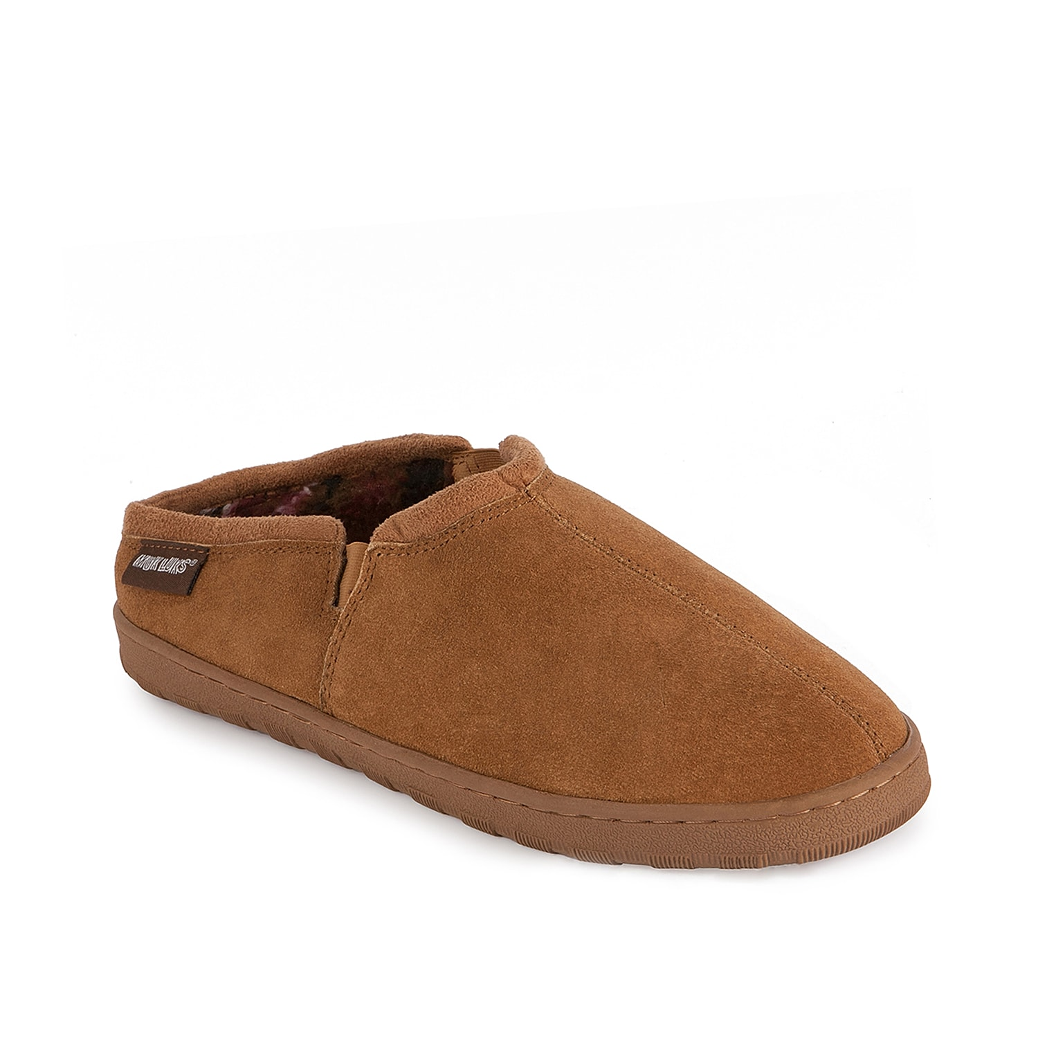For great comfort and style that will keep your feet cozy and snug, the Muk Luks Matt slip-on will be your perfect choice.
