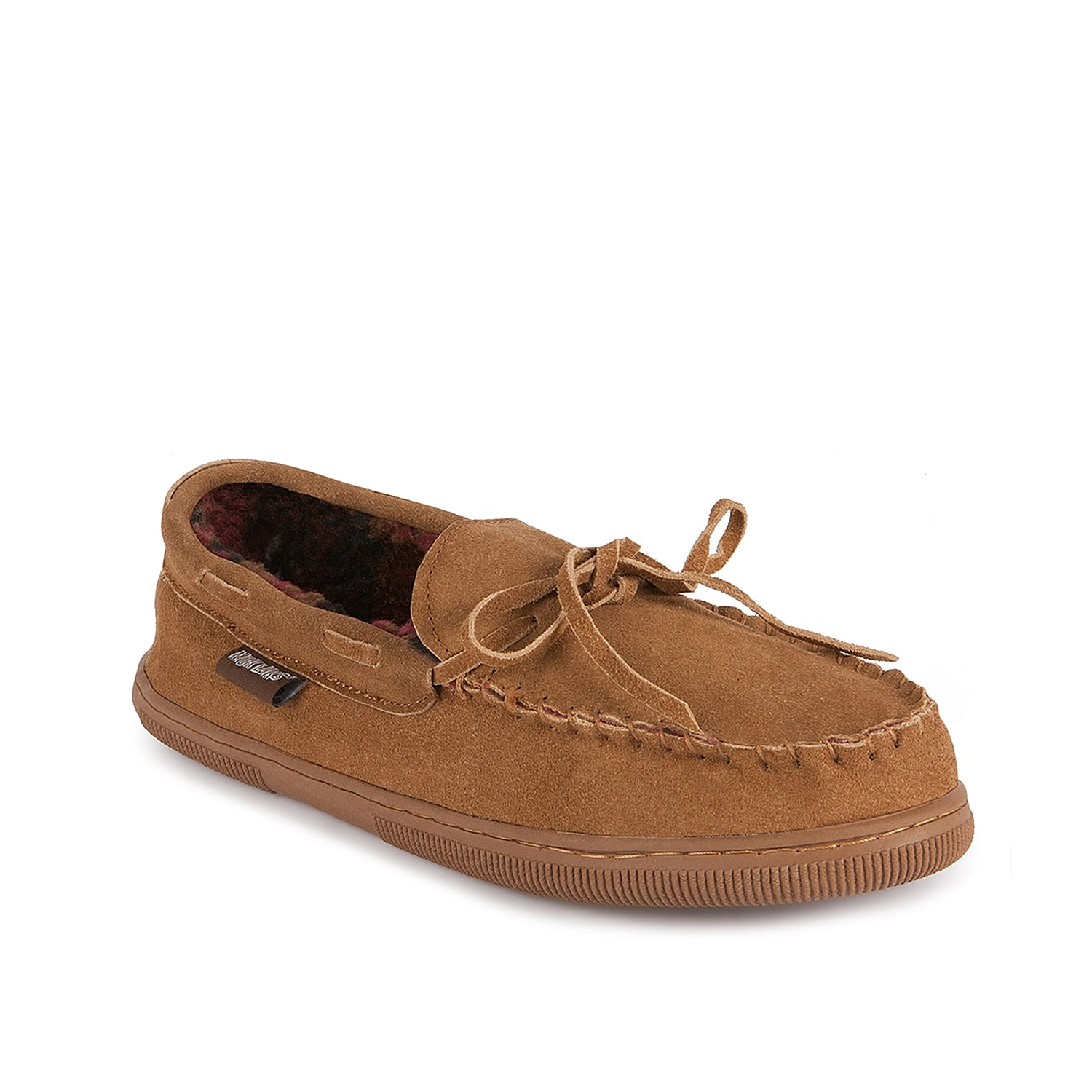For a look and feel that will keep you feeling and looking good, Muk Luks has created the Paul moccasin slipper to keep you on your toes this season.