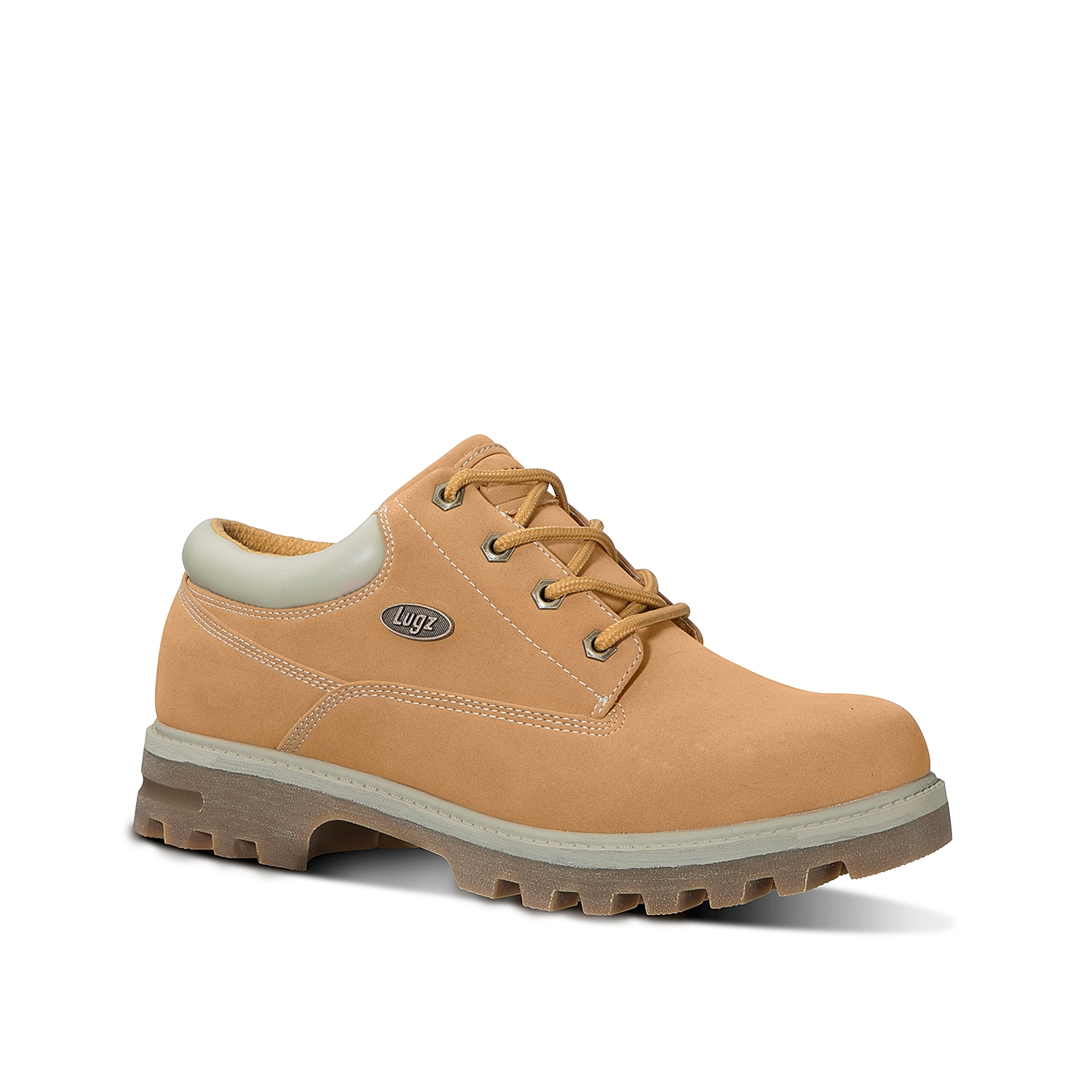 The Empire Lo WR is a water resistant and slip resistant, plain toe boot that features Lugz patented Flexastride memory foam technology. This boot has the perfect blend of style and comfort to protect your feet year round.