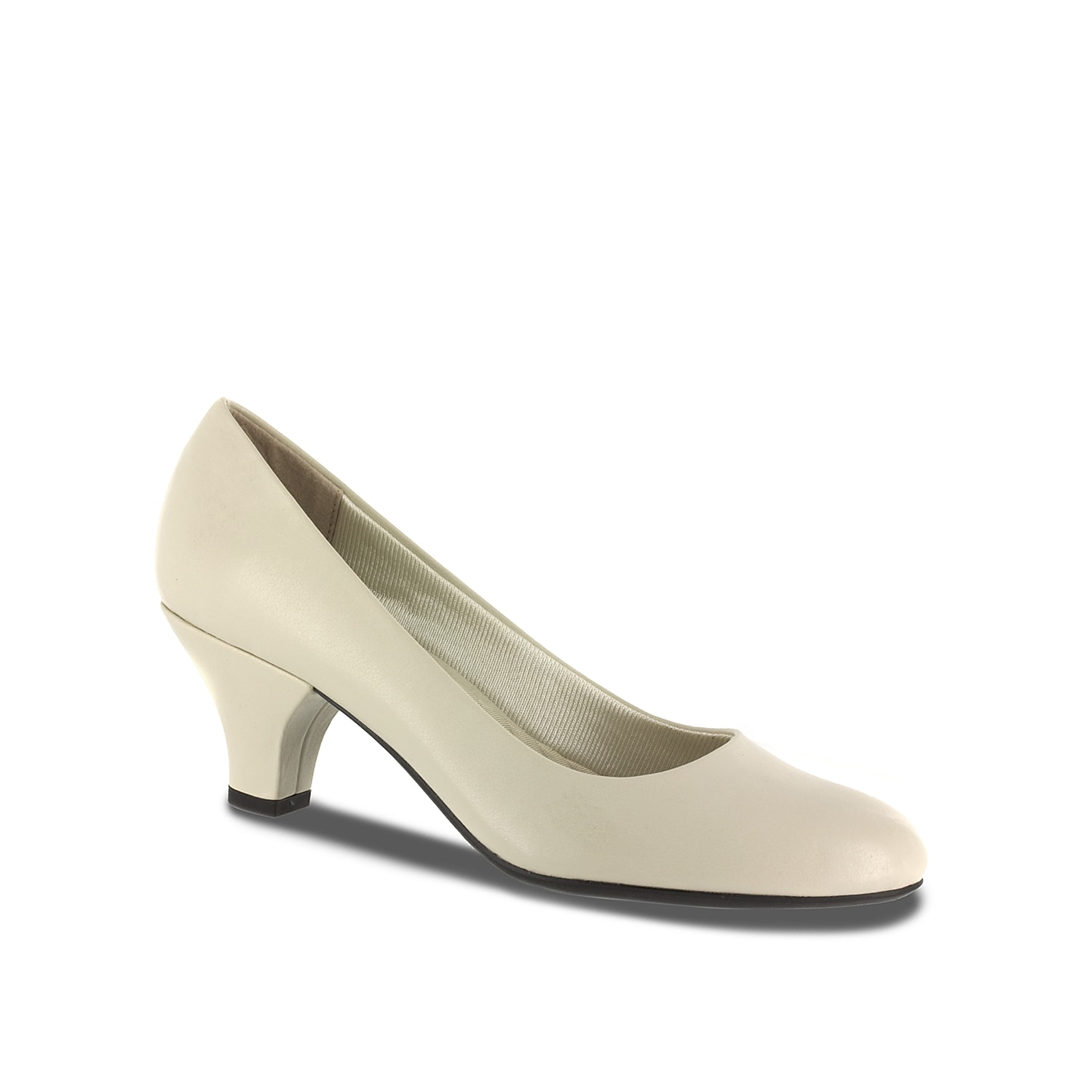 The Fabulous by Easy Street is a classically styled pump that is a must-have in your year-round wardrobe. This versatile dress shoe features a soft rounded toe, a mid-sized heel, and super flexible outsole.
