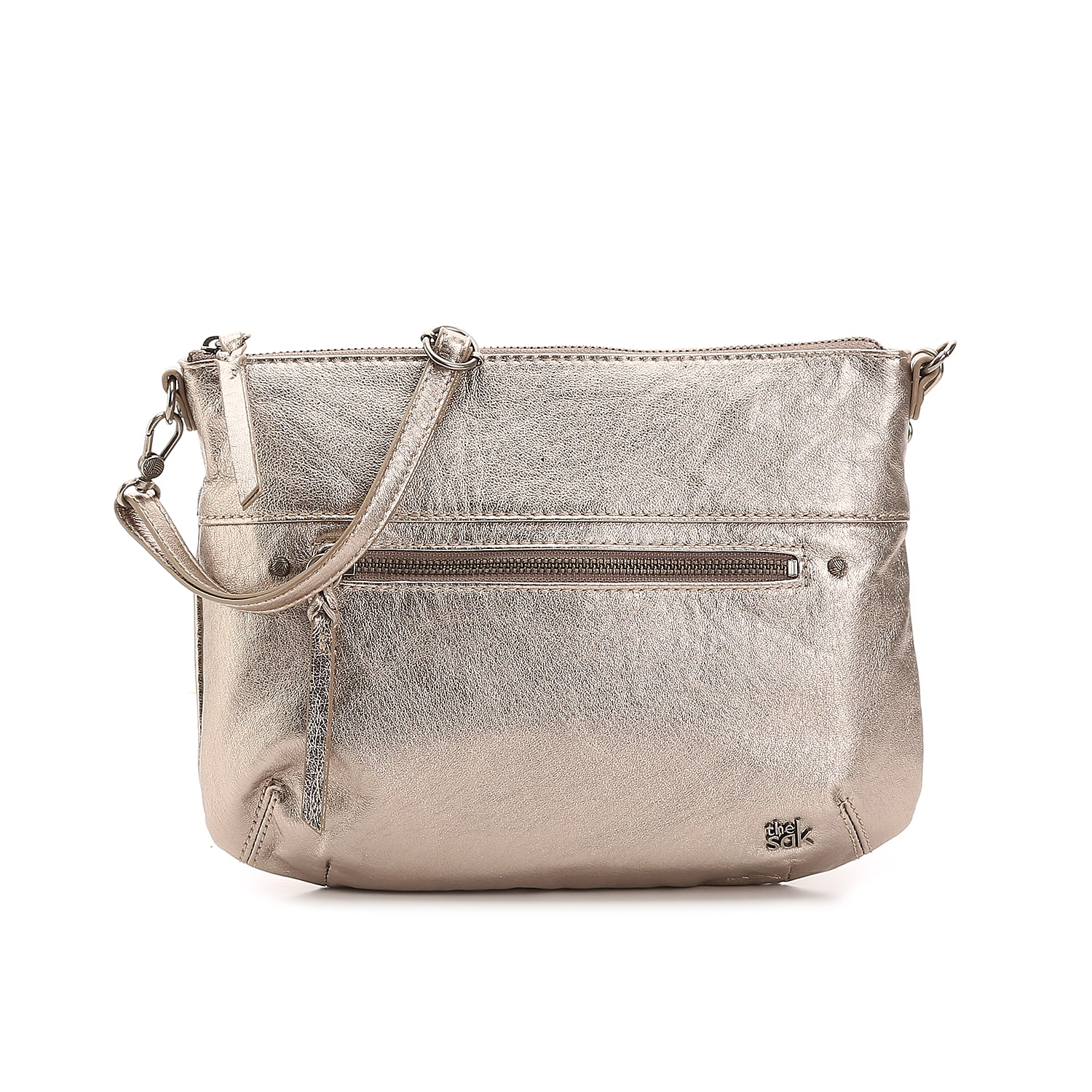 Simple yet cute, the Oleta crossbody bag from The Sak has a removable strap so this handbag can also be used as a clutch!