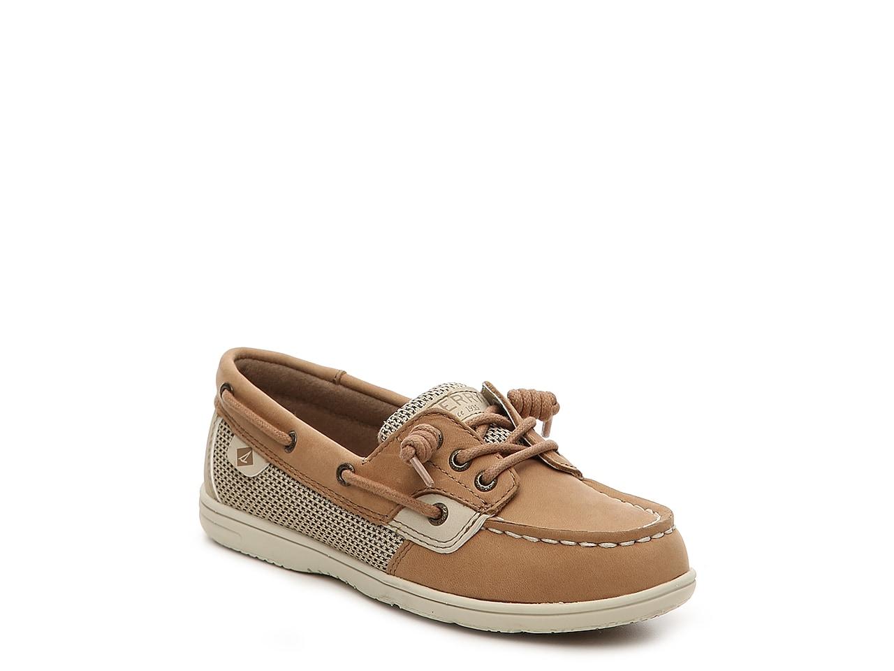 Sperry Kids Shoresider Jr//Blue Boat Shoe