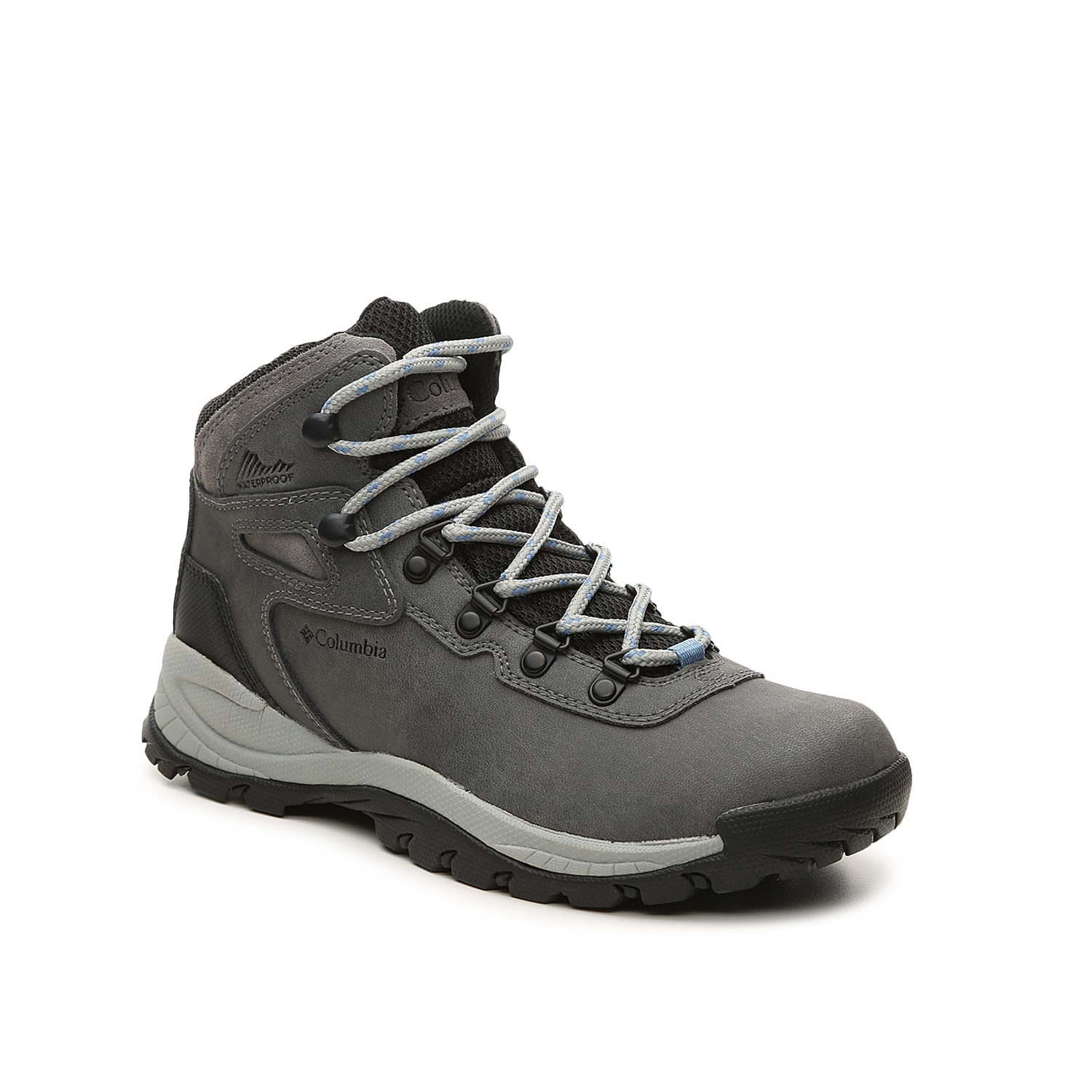 Take to the trails in the women\\\'s Newton Ridge hiking shoes from Columbia that come equipped with a weather-treated finish for versatile wear. The impact-absorbing midsole and serious lug traction keep you going mile after mile.Click here for Boot Measuring Guide.