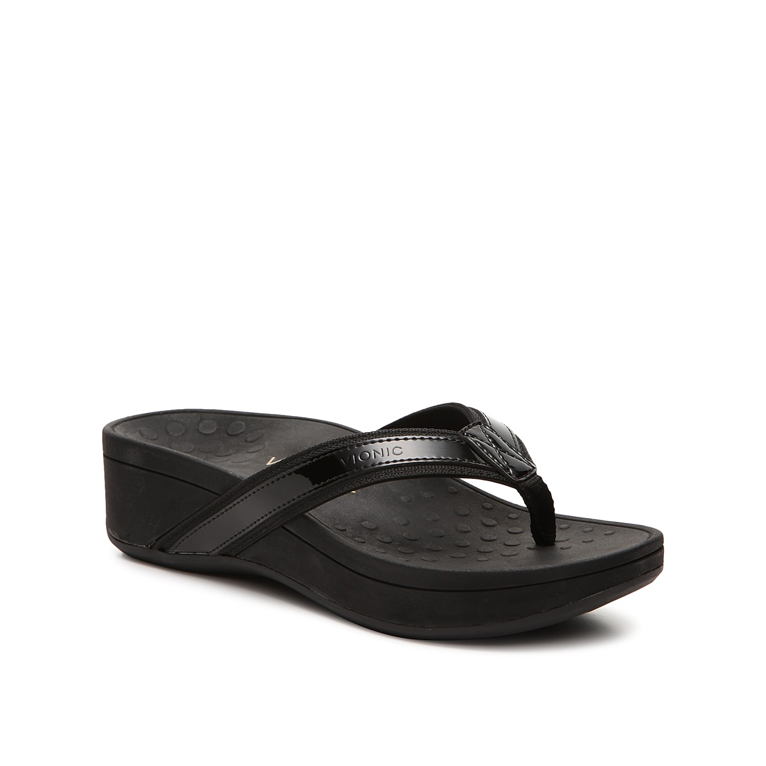 Slide into a comfortable sandal from Vionic before heading out the door. The High Tide wedges feature a podiatrist-designed footbed and sole that offer support in all the right places.