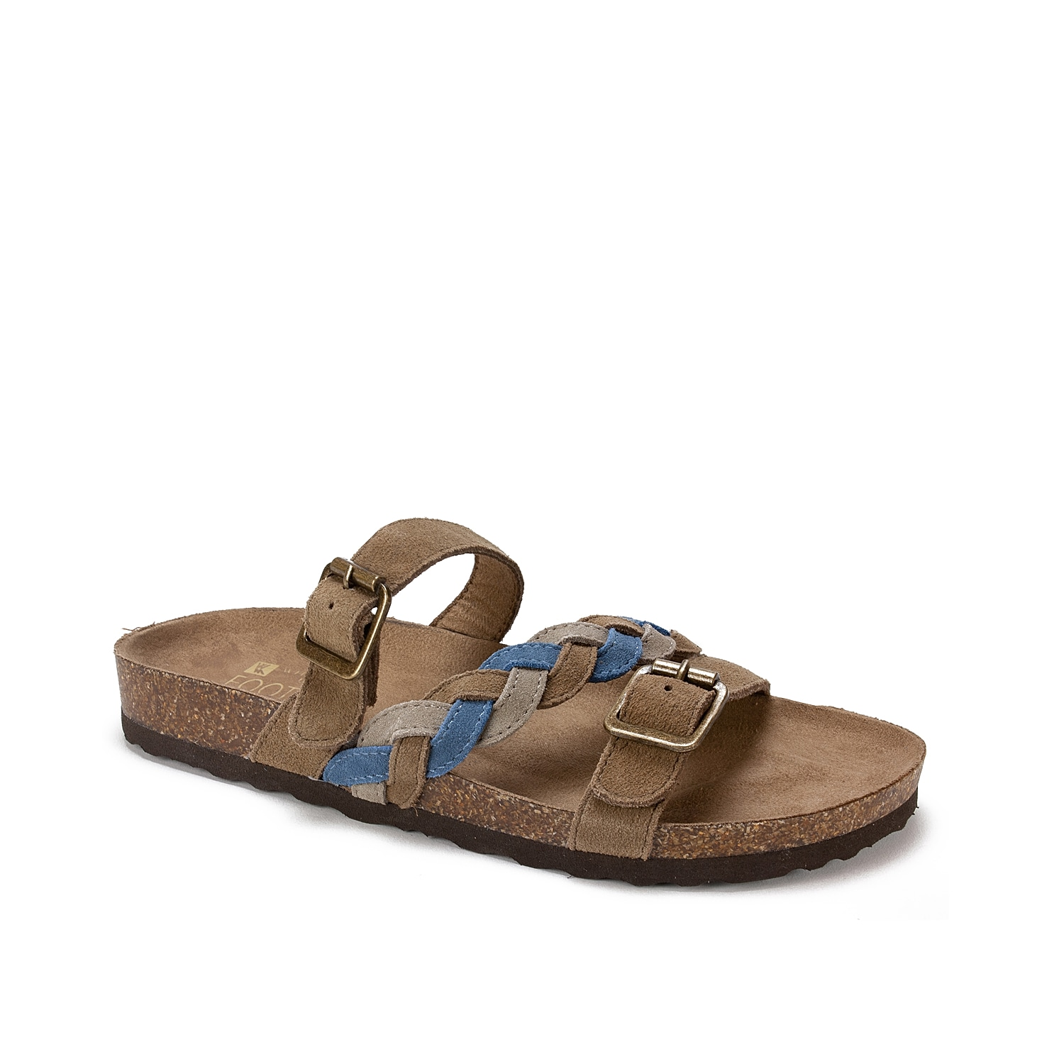 Slide into these comfy leather sandals to complete your warm weather look. Classic and versatile, the White Mountain Huntington slide sandal will become a go-to flat in your summer wardrobe.