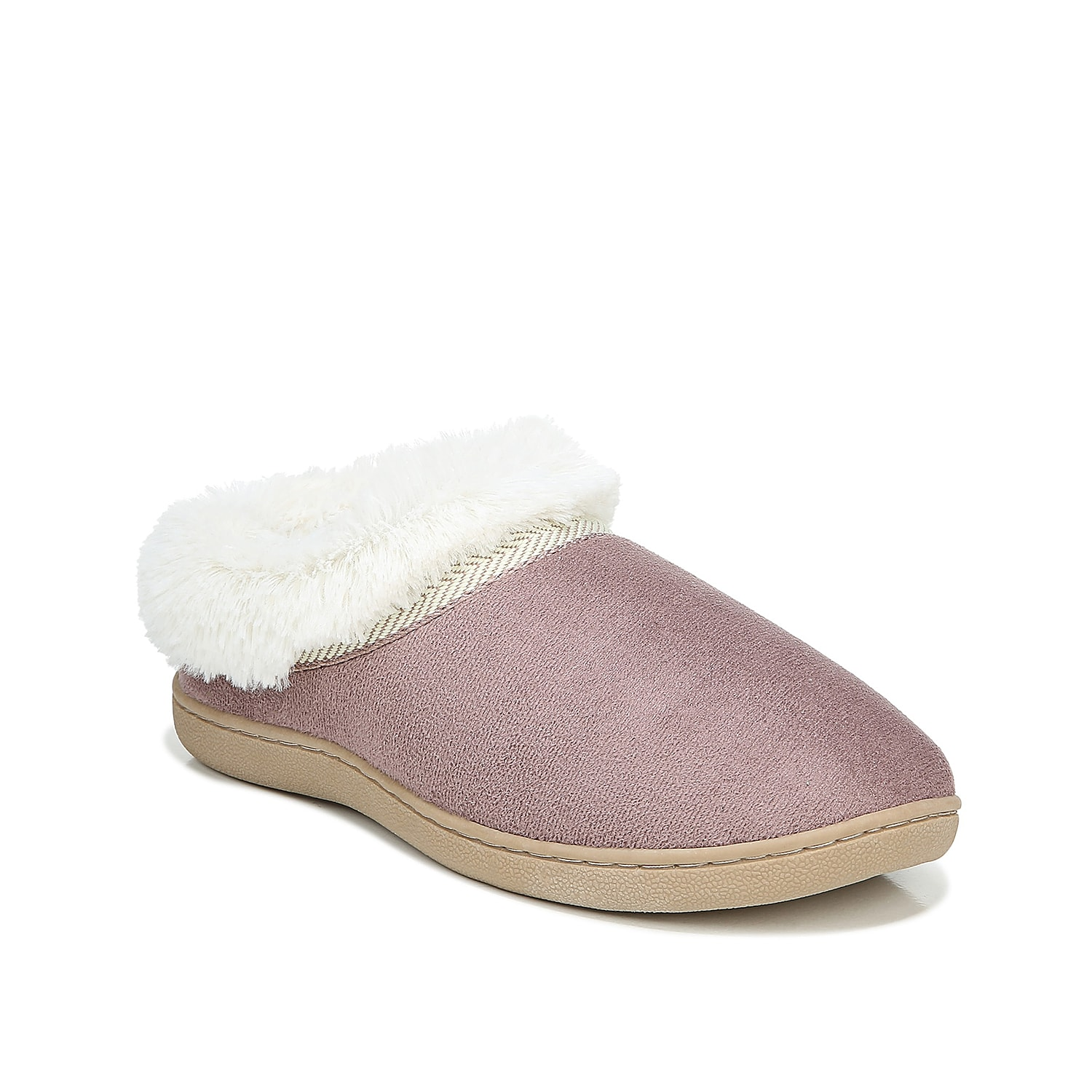So comfortable, you won\\\'t want to take them off! Dr. Scholl\\\'s brings you the Tatum center seam slipper with a memory foam footbed for ultimate cushioning.