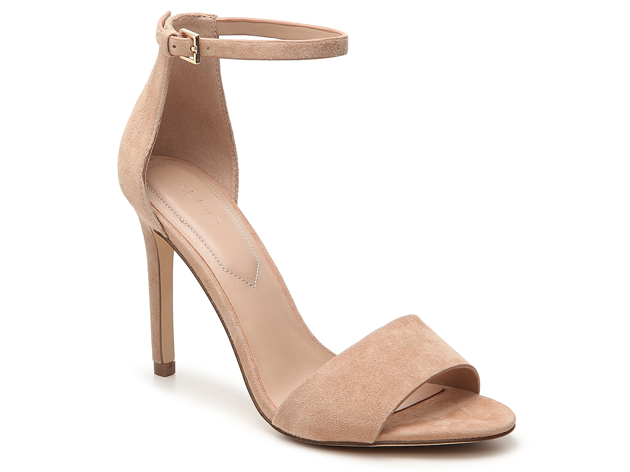 NEW Aldo Leather Shoes - Nude - Cork Wedge Sandals UK Size