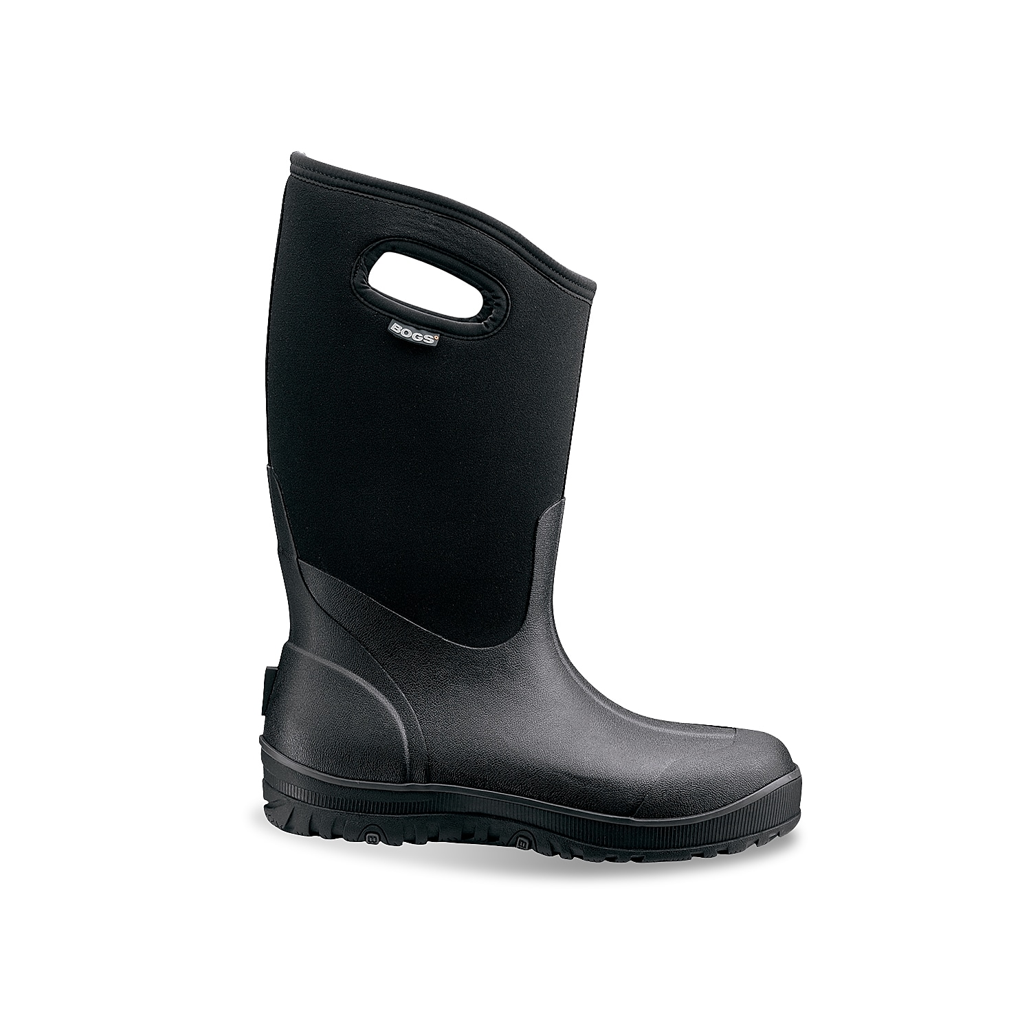 Weather won\\\'t stop you when you wear the Ultra High winter boots from Bogs. These comfort-rated snow boots are designed to provide excellent traction on any surface, while a rubber sponge internal midsole provides extra cushioning and warmth.