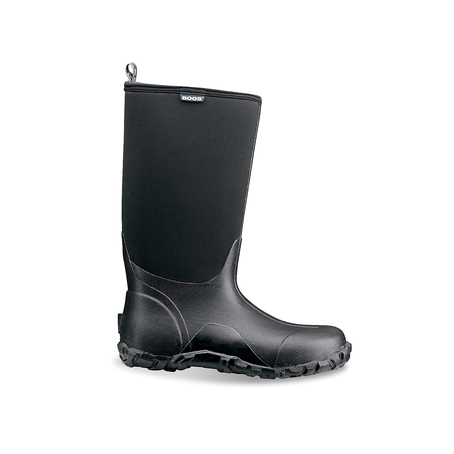 Weather won\\\'t stop you when you wear the Classic High winter boots from Bogs. These comfort-rated snow boots are designed to provide excellent traction on any surface, while four way-stretch insulation and a contoured fit improve wearability.