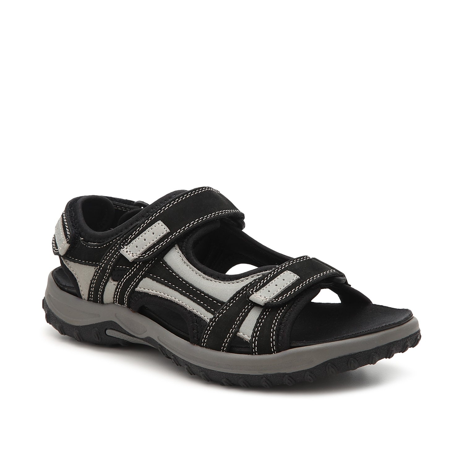 Whether you\\\'re hiking the trails or walking in wet environments, the Warren from Drew is for you. This sport sandal features a removable insole for custom comfort and a rubber traction sole to ensure slip-free steps.