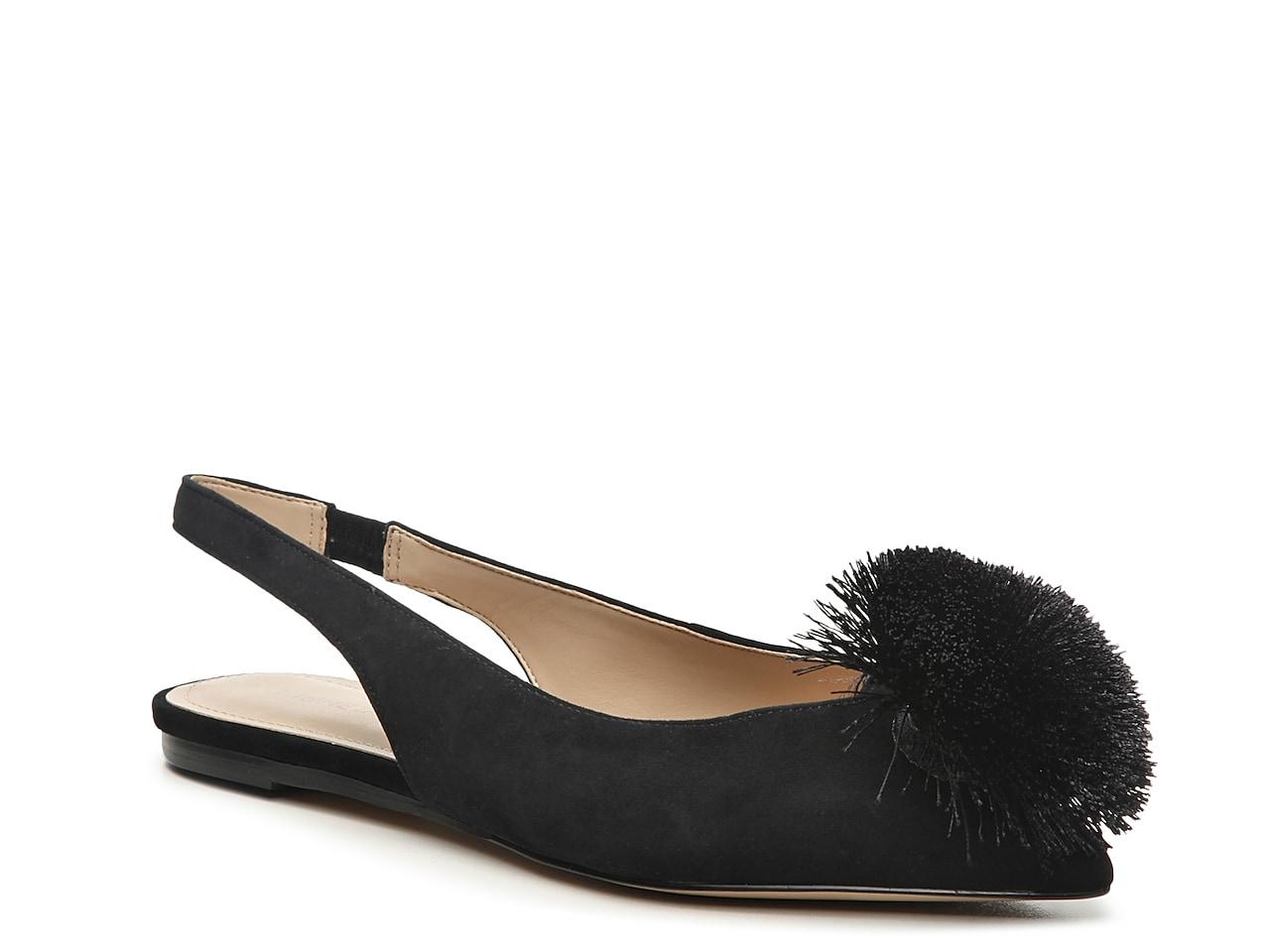 Details about  /Pleasant Pumps Memory Foam The Samantha Sandals Flats Black Leather Comfortable!
