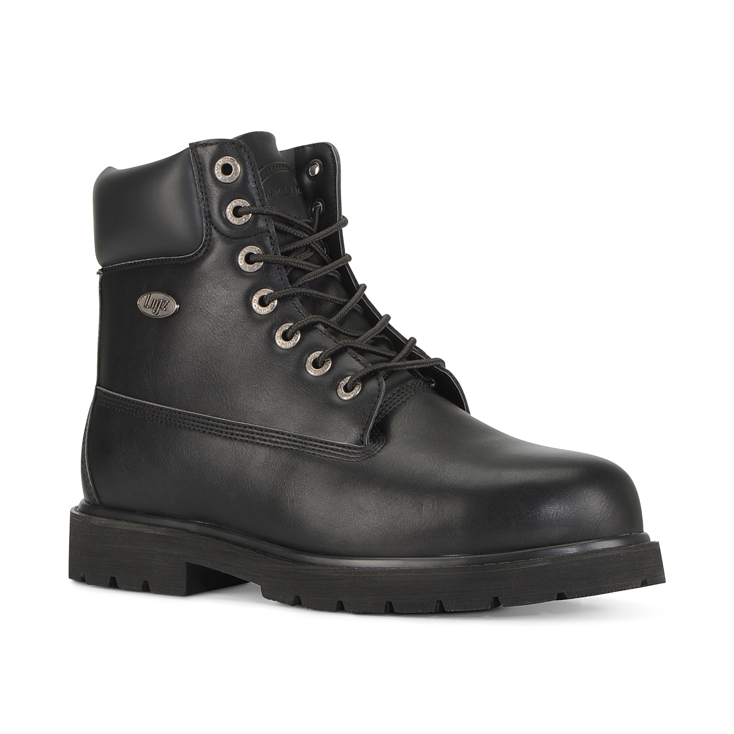 The Drifter ankle boot from Lugz is a fresh update on a classic design. A steel toe, water resistant upper, flexastride memory foam footbed, and a slip resistant sole will keep you safe in style.