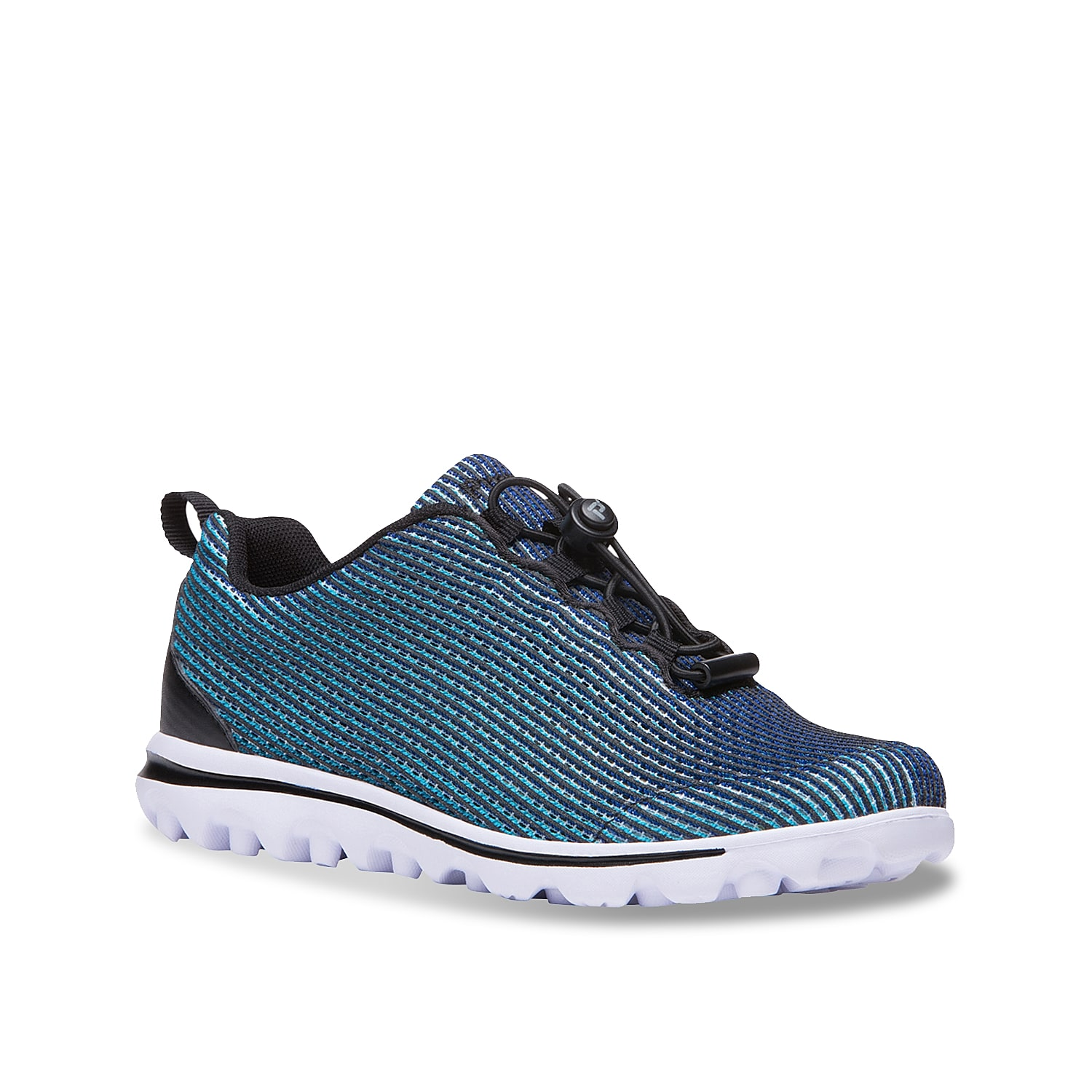 Make every stride your strongest in the women\\\'s TravelActiv Xpress sneaker from Propet. These walking shoes feature bungee lacing for a adjustable fit and a TravelTek™traction sole for optimal support.