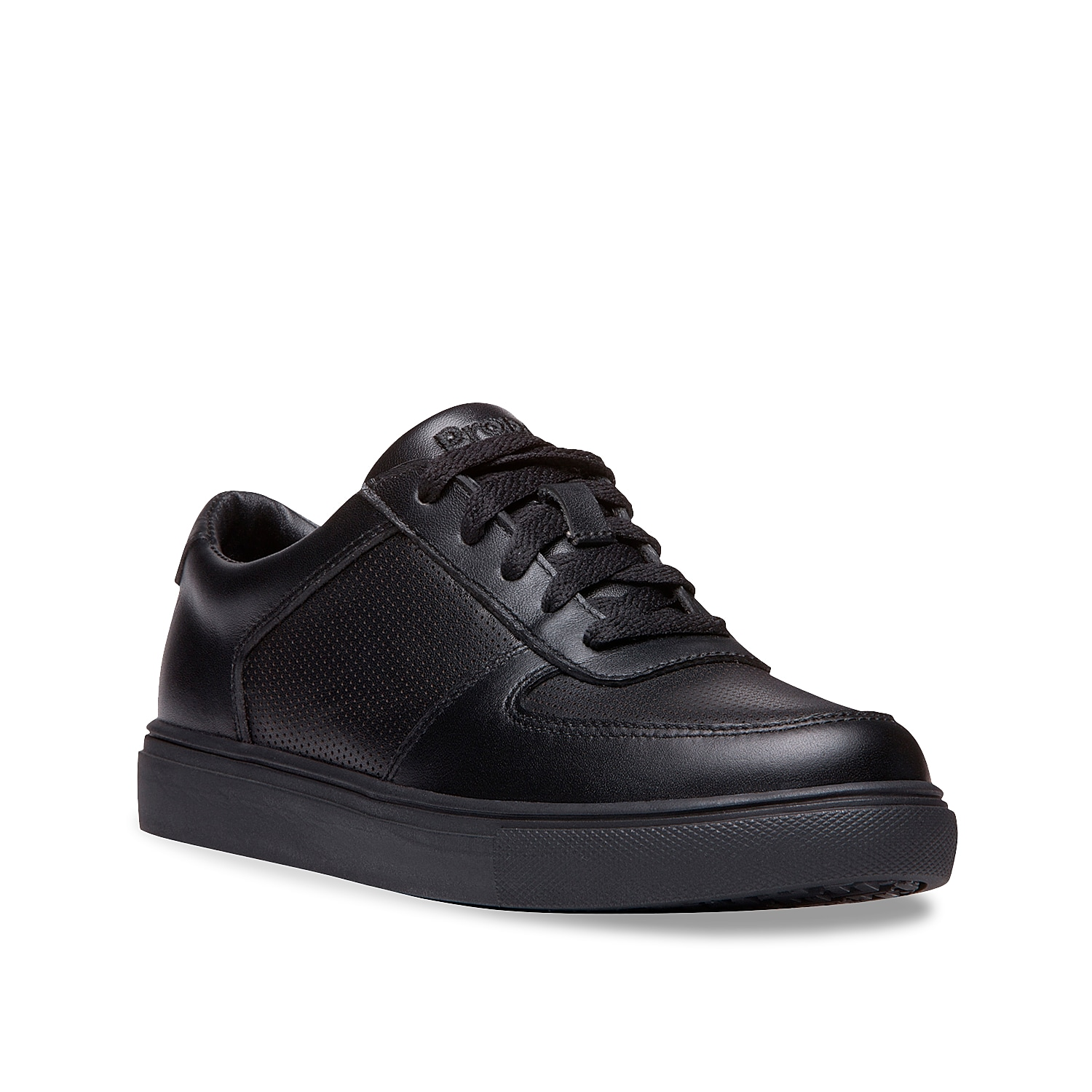 Stay in style while wearing the Nessie work sneaker from Propet. This lace-up sneaker features a perforated leather upper and slip-resistant rubber sole for extra traction on the job!