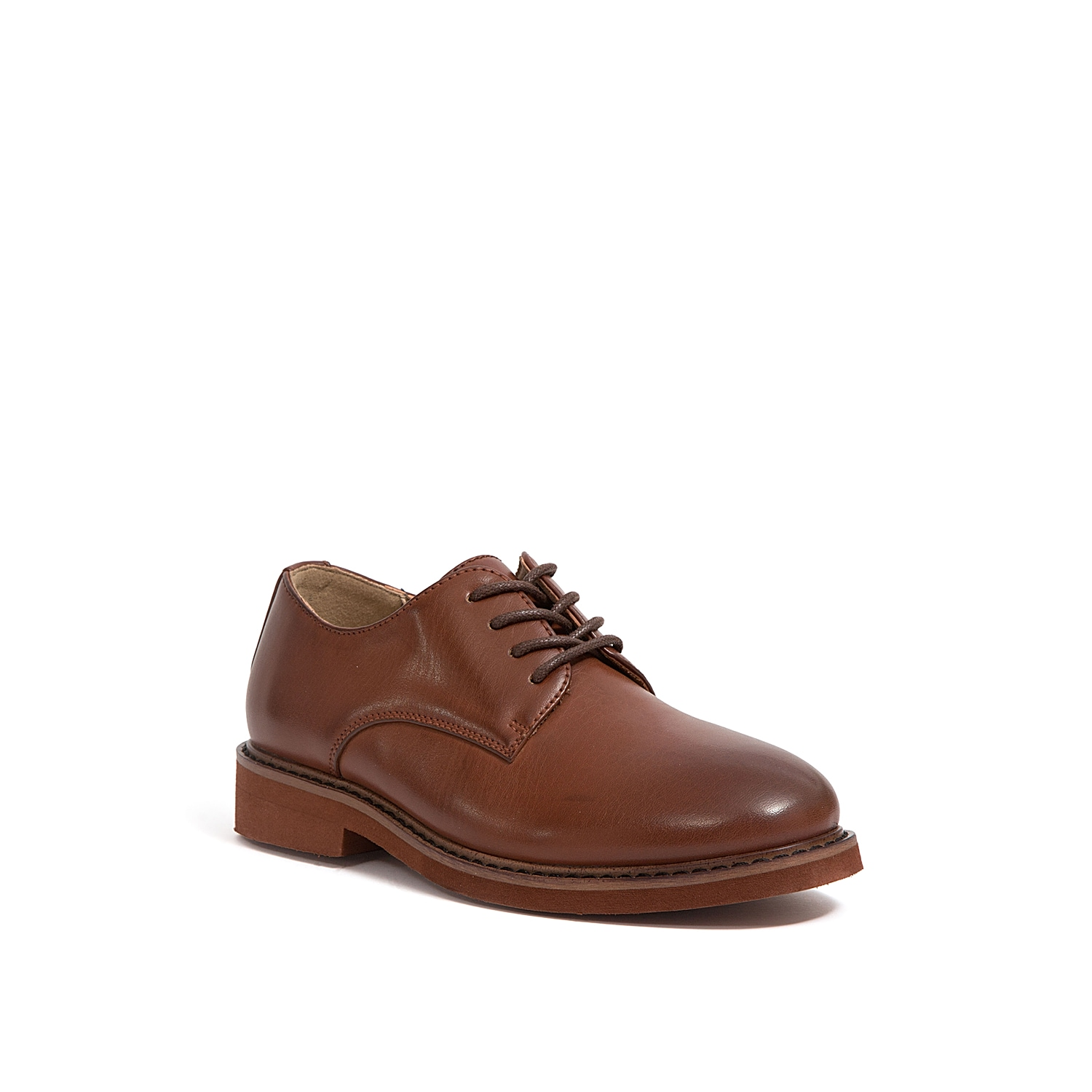 He will feel extra sophisticated in the Denny oxford from Deer Stags. This dress shoe is perfect for weddings, church, school picture day, or any other dressy event! Not sure which size to order? Clickhereto check out our Kids' Measuring Guide! For more helpful tips and sizing FAQs, clickhere.