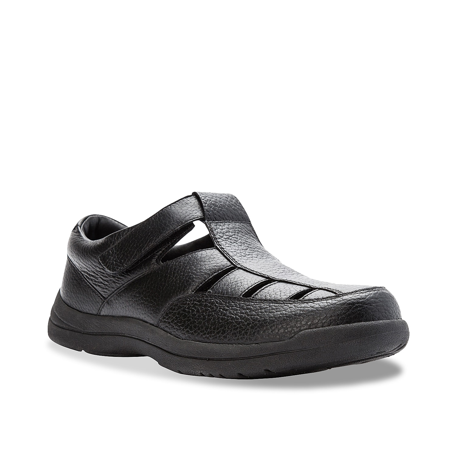 Add a sophisticated accent to your warm-weather look in the Bayport from Propet. These fisherman sandals feature a supple leather design and durable sole for lasting wear.