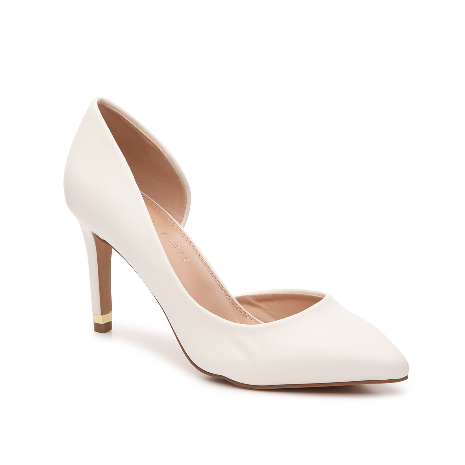 The Driella pump from Kelly & Katie will be a flawless and fabulous find for your shoe collection. The d\\\'Orsay styling and clean, pointed toe will give your ensemble a high-fashion look!