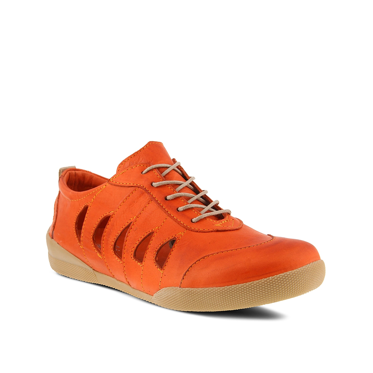 Perfect for the summer season, the Konak sneaker from Spring Step will keep you feeling fresh. Side cut outs and a leather lining keep this low-top extra breathable!