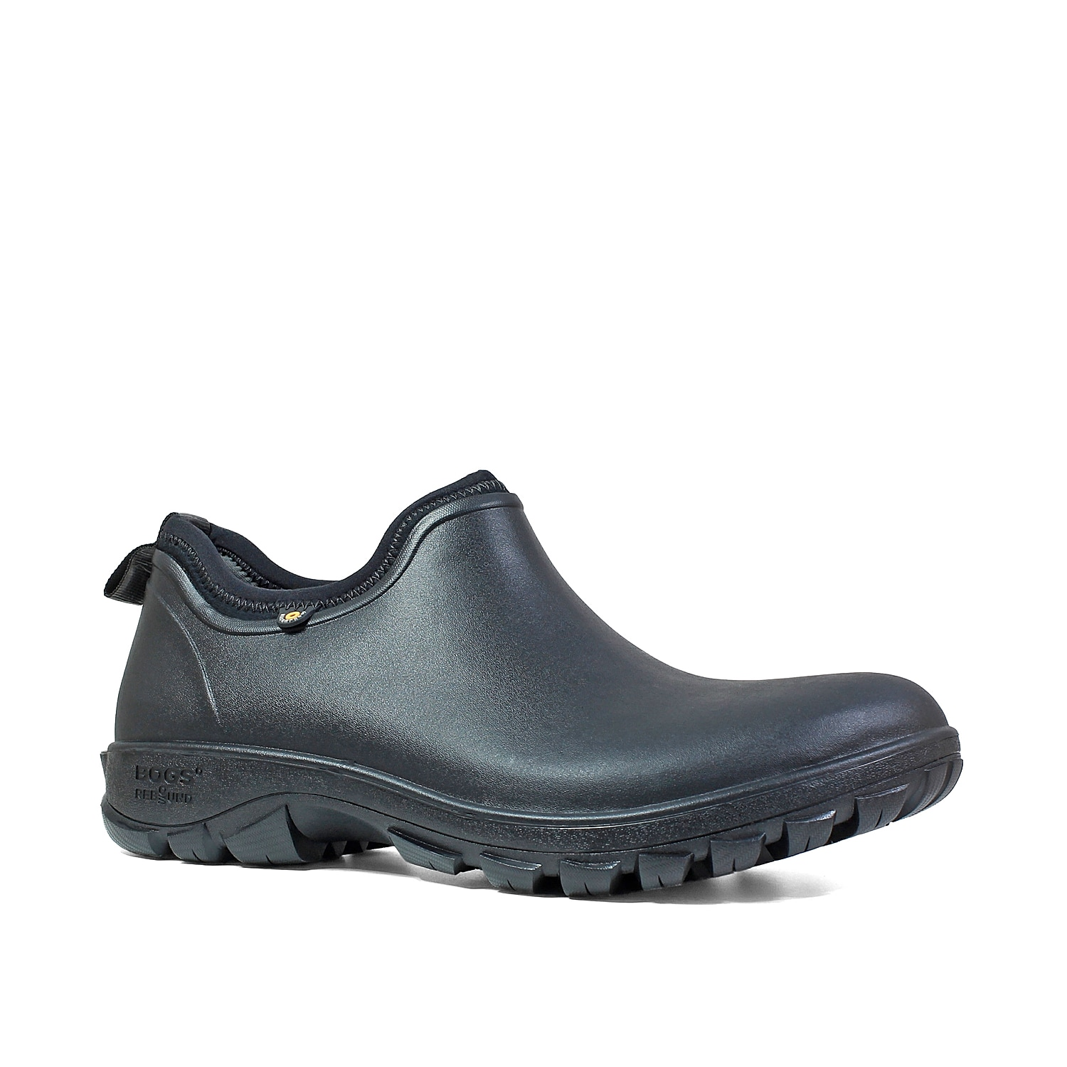 The Sauvie slip-on boot from Bogs will be your best bet when trying to stay protected in cold temperatures. This boot features a waterproof construction and a 3mm Neo-Tech™ insulated lining that will help you stay confident when shoveling the snow!