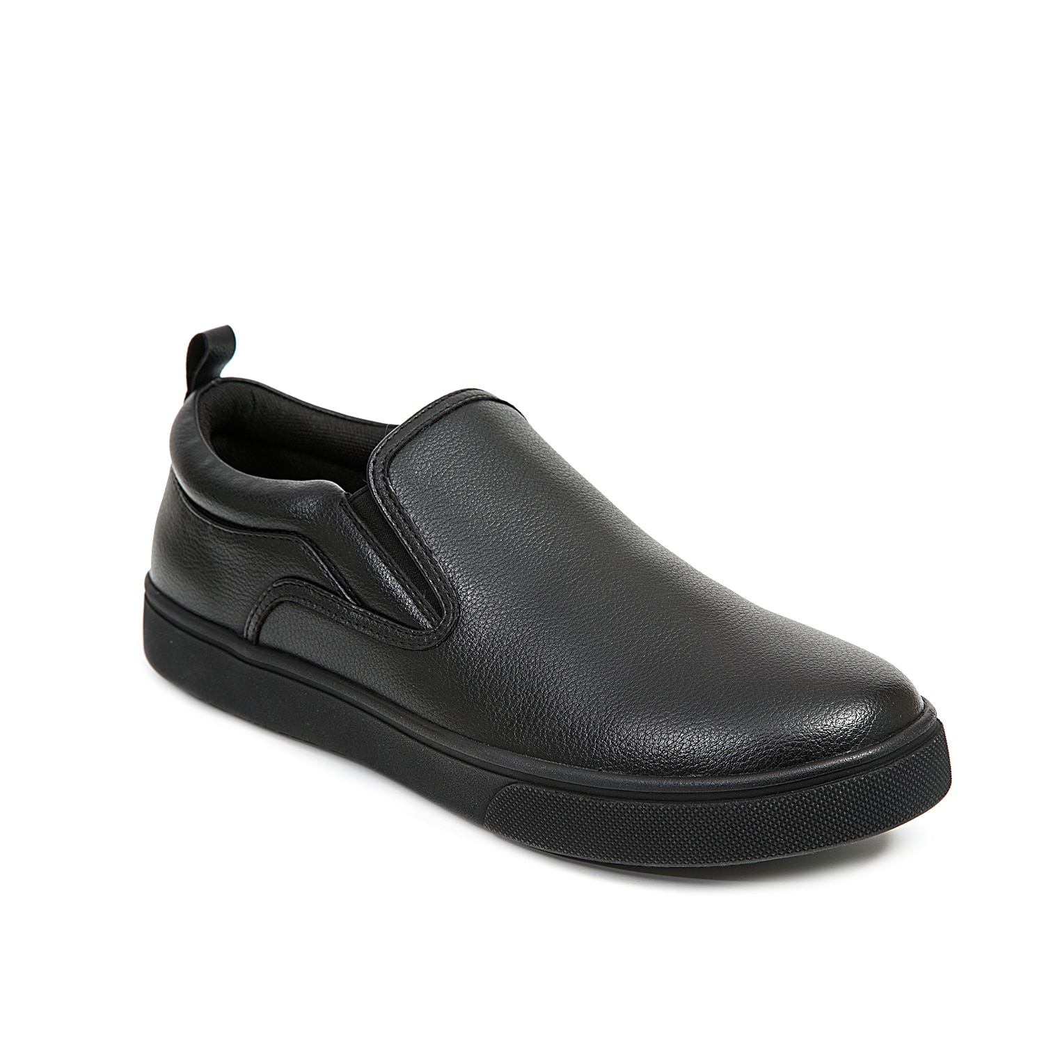 You\\\'ll feel great on your feet all day long when wearing the Depot work slip-on from Deer stags. With the Memory Foam footbed and slip and oil-resistant rubber sole to keep you safe and secure while on the job!