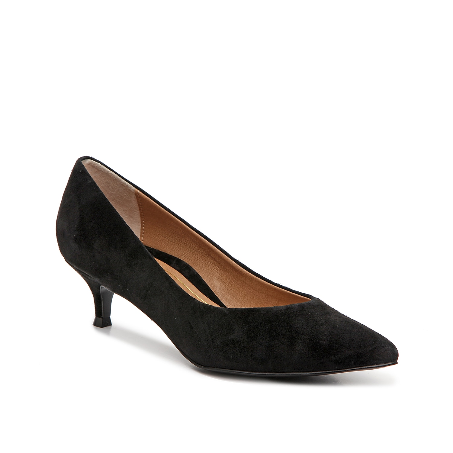 Stay comfortable even after long days at the office in the Josie pump from Vionic. A supportive footbed realigns your foot\\\'s natural stance while the kitten heel adds the perfect amount of height.