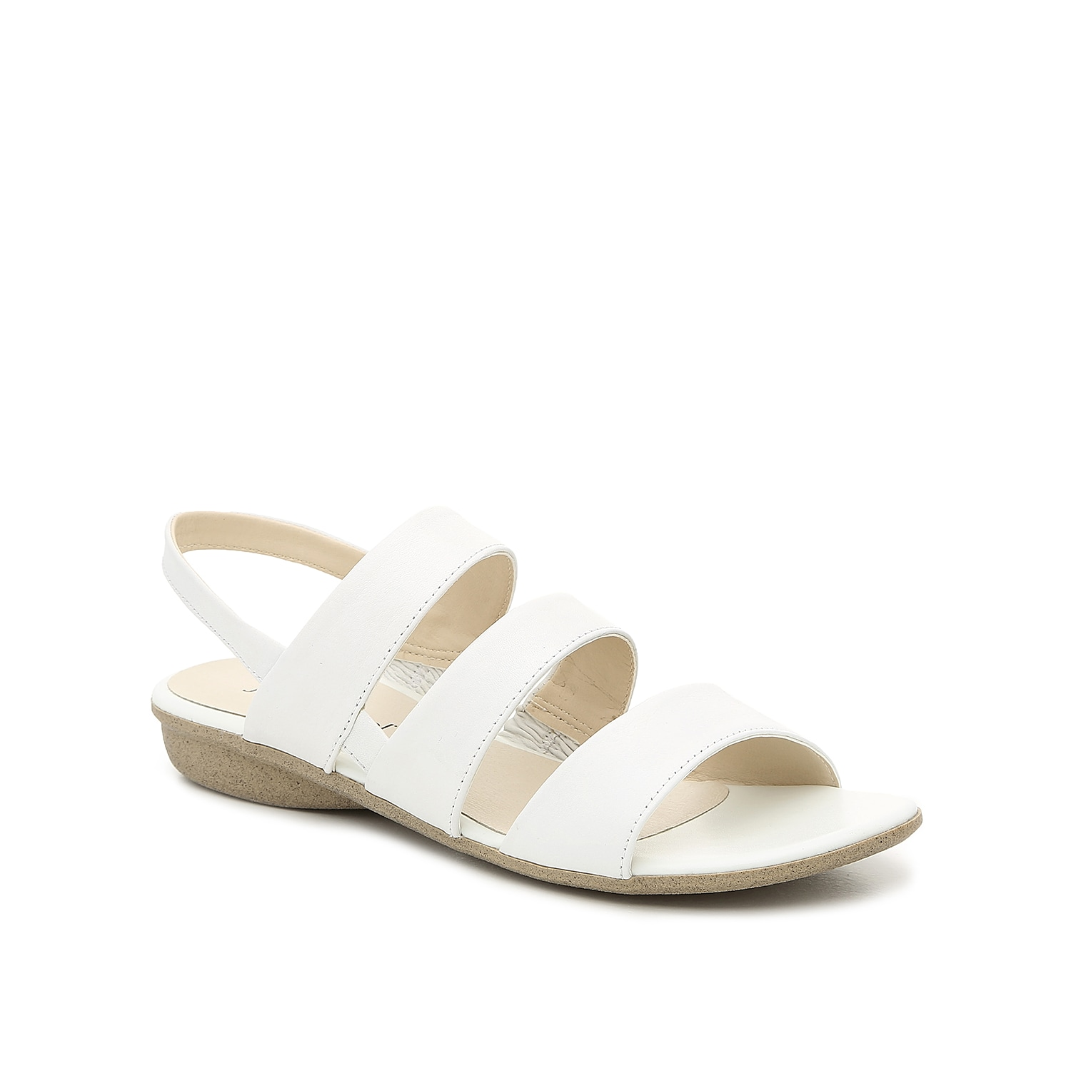 Add enticement to your shoe collection with the Fabia sandal from Josef Seibel. This strappy silhouette features a leather upper and cushioned footbed for daylong wear!